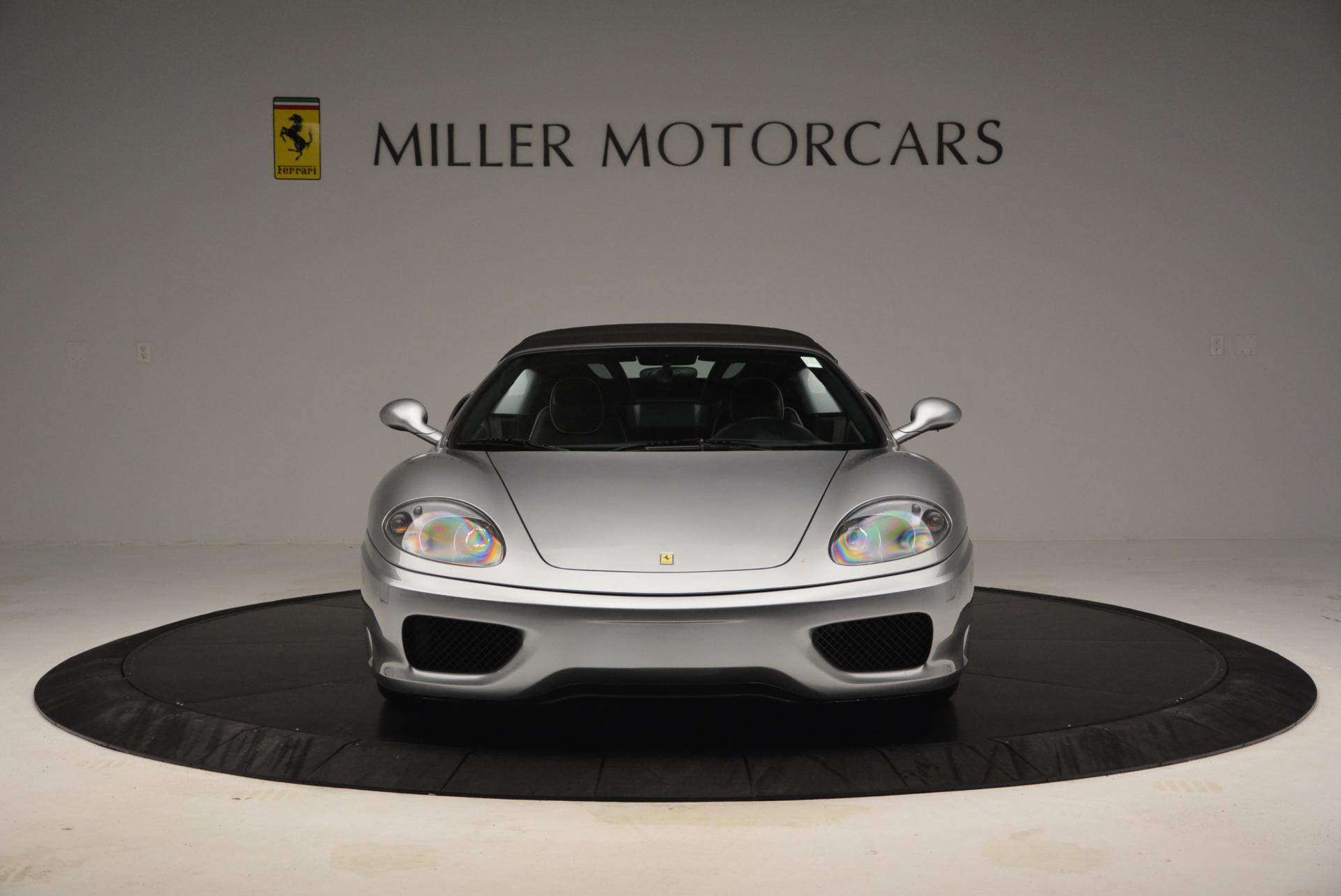 Used 2004 Ferrari 360 Spider 6-Speed Manual  For Sale In Westport, CT 138_p24