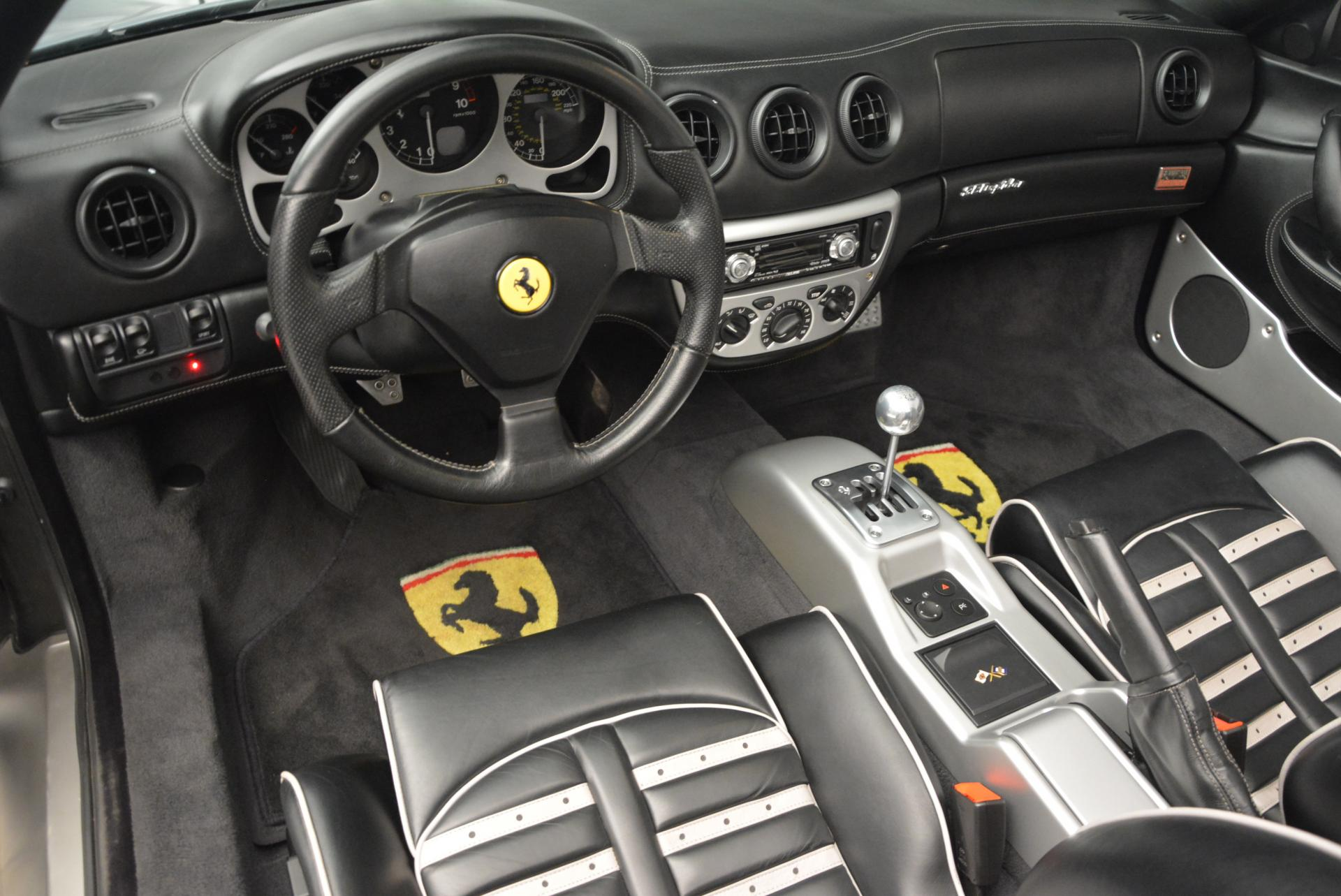Used 2004 Ferrari 360 Spider 6-Speed Manual  For Sale In Westport, CT 138_p25