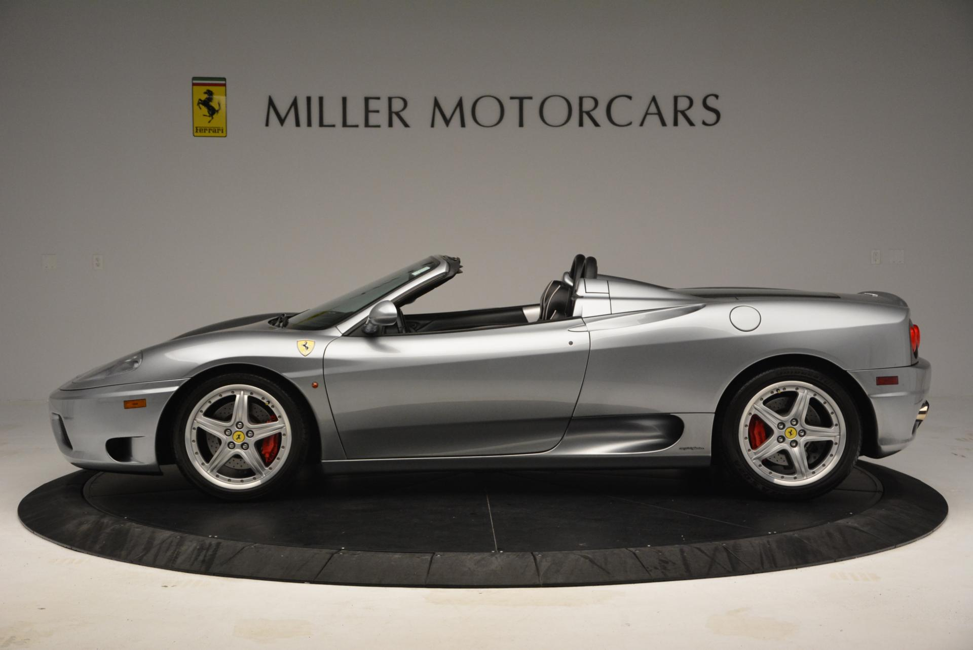 Used 2004 Ferrari 360 Spider 6-Speed Manual  For Sale In Westport, CT 138_p3