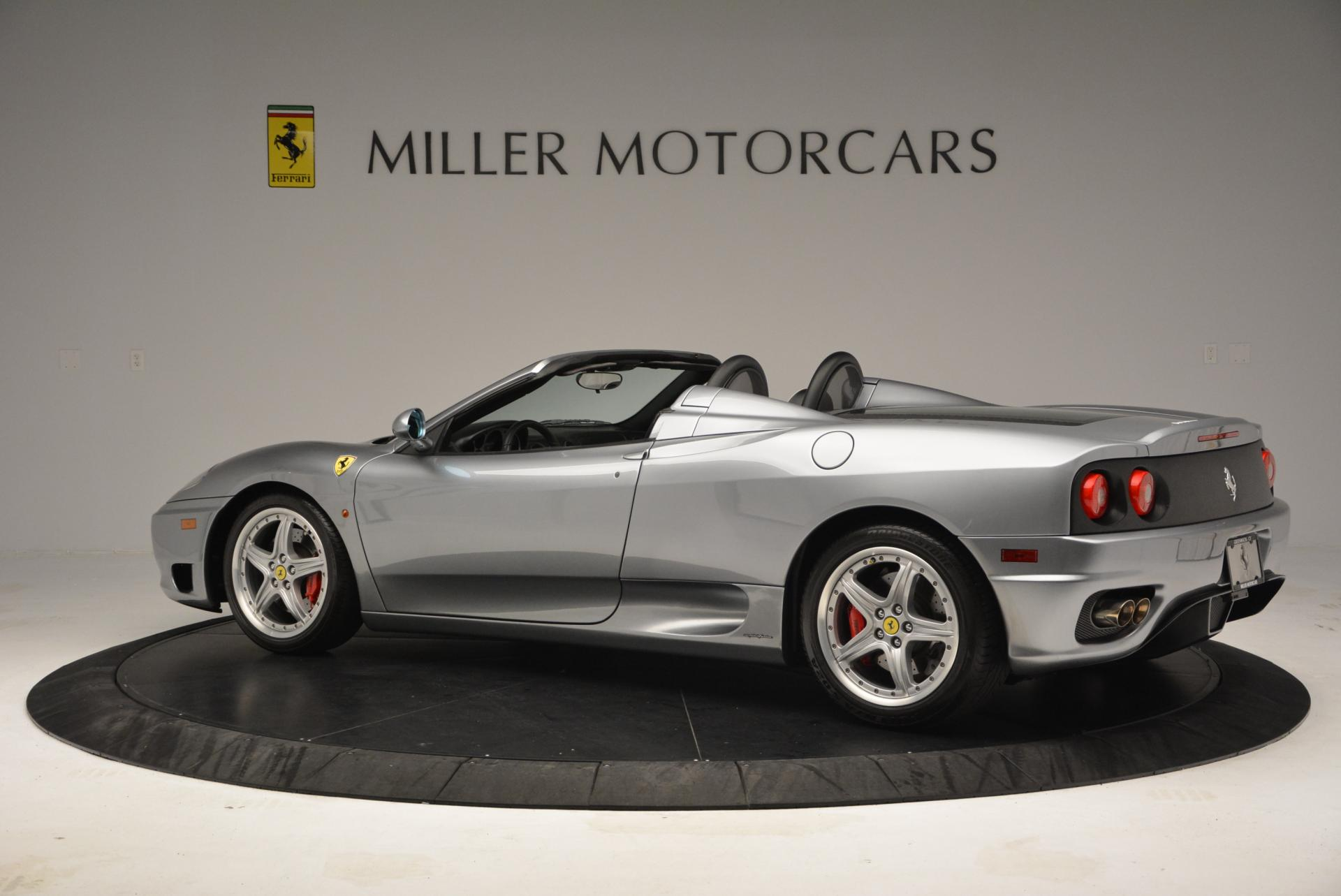 Used 2004 Ferrari 360 Spider 6-Speed Manual  For Sale In Westport, CT 138_p4