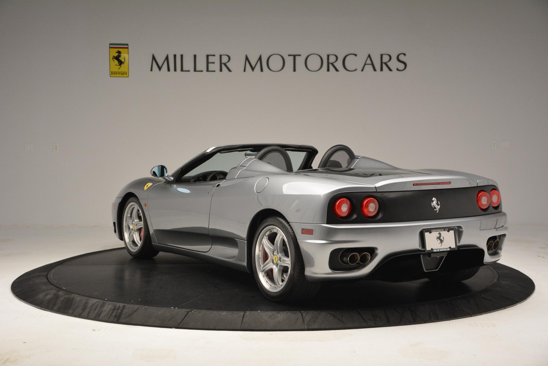 Used 2004 Ferrari 360 Spider 6-Speed Manual  For Sale In Westport, CT 138_p5
