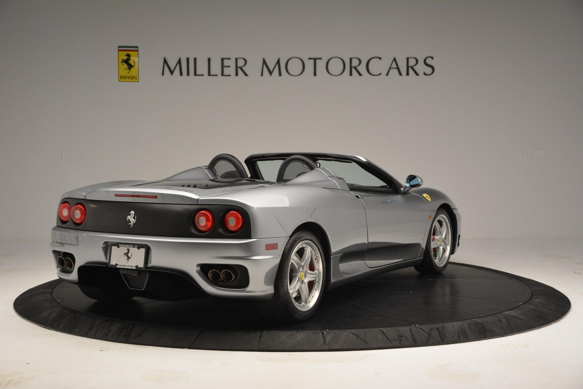 Used 2004 Ferrari 360 Spider 6-Speed Manual  For Sale In Westport, CT 138_p7