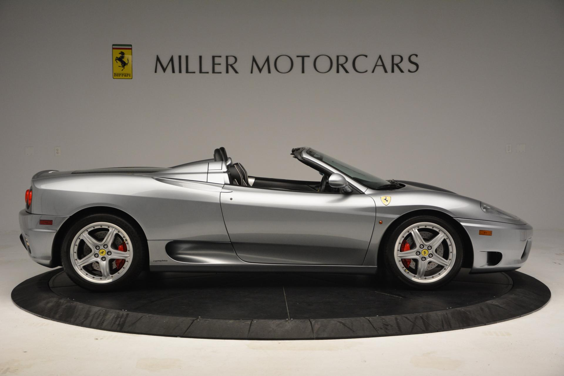 Used 2004 Ferrari 360 Spider 6-Speed Manual  For Sale In Westport, CT 138_p9