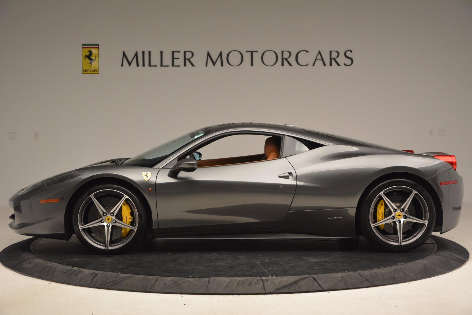 Used 2011 Ferrari 458 Italia  For Sale In Westport, CT 1385_p3