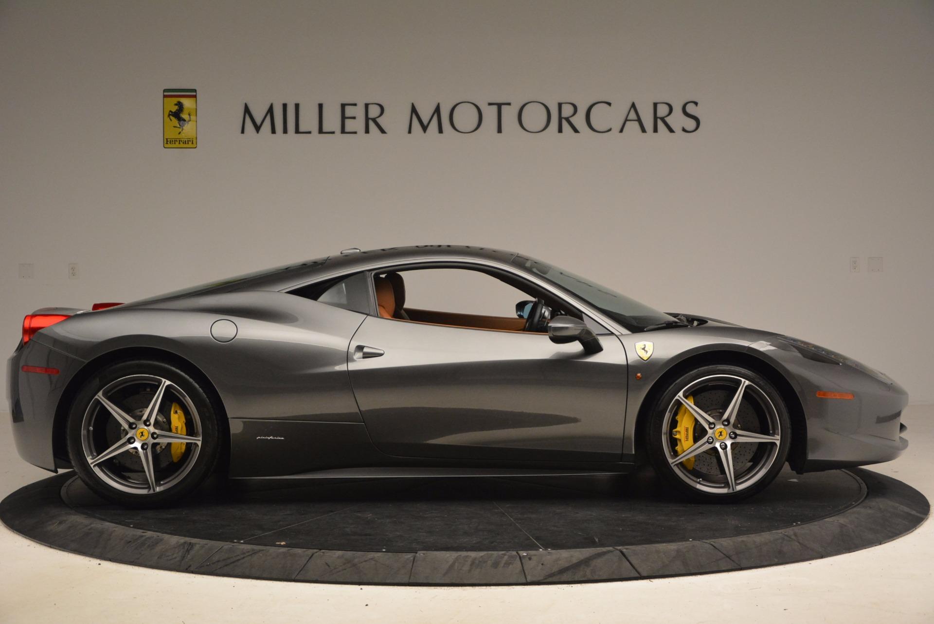 Used 2011 Ferrari 458 Italia  For Sale In Westport, CT 1385_p9