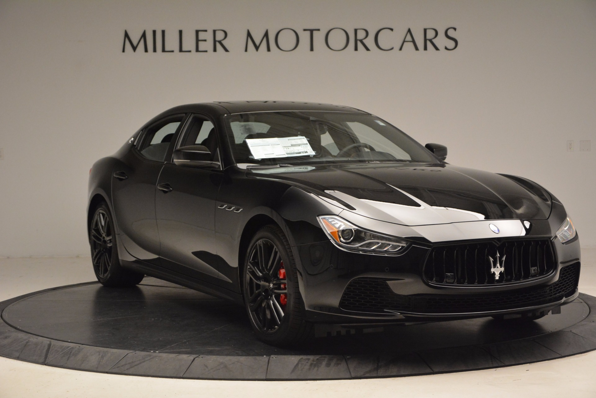 New 2017 Maserati Ghibli Nerissimo Edition S Q4 For Sale In Westport, CT 1391_p11