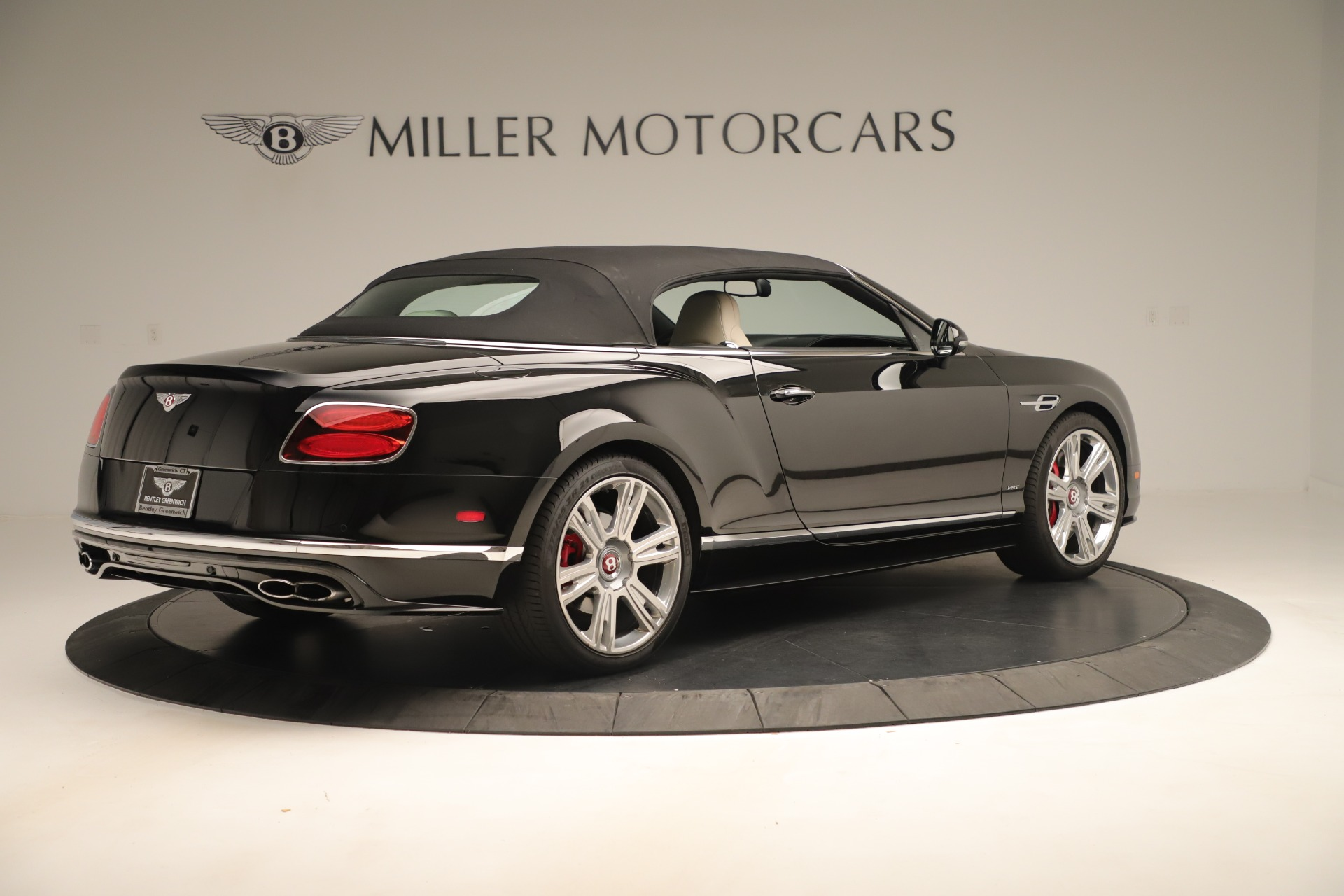Used 2016 Bentley Continental GT V8 S Convertible  For Sale In Westport, CT 14_p17