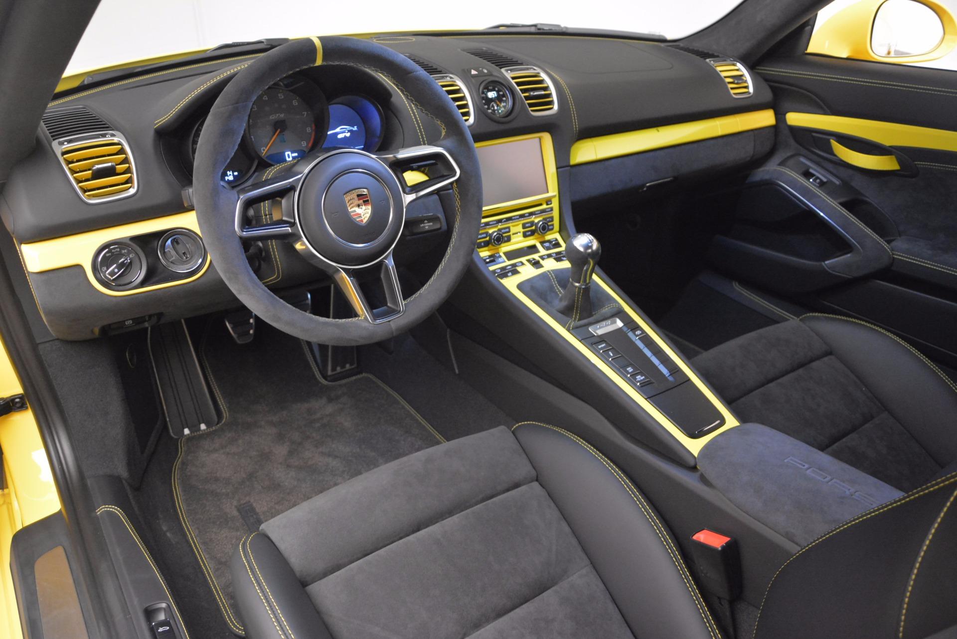 Used 2016 Porsche Cayman GT4 For Sale In Westport, CT 1401_p13