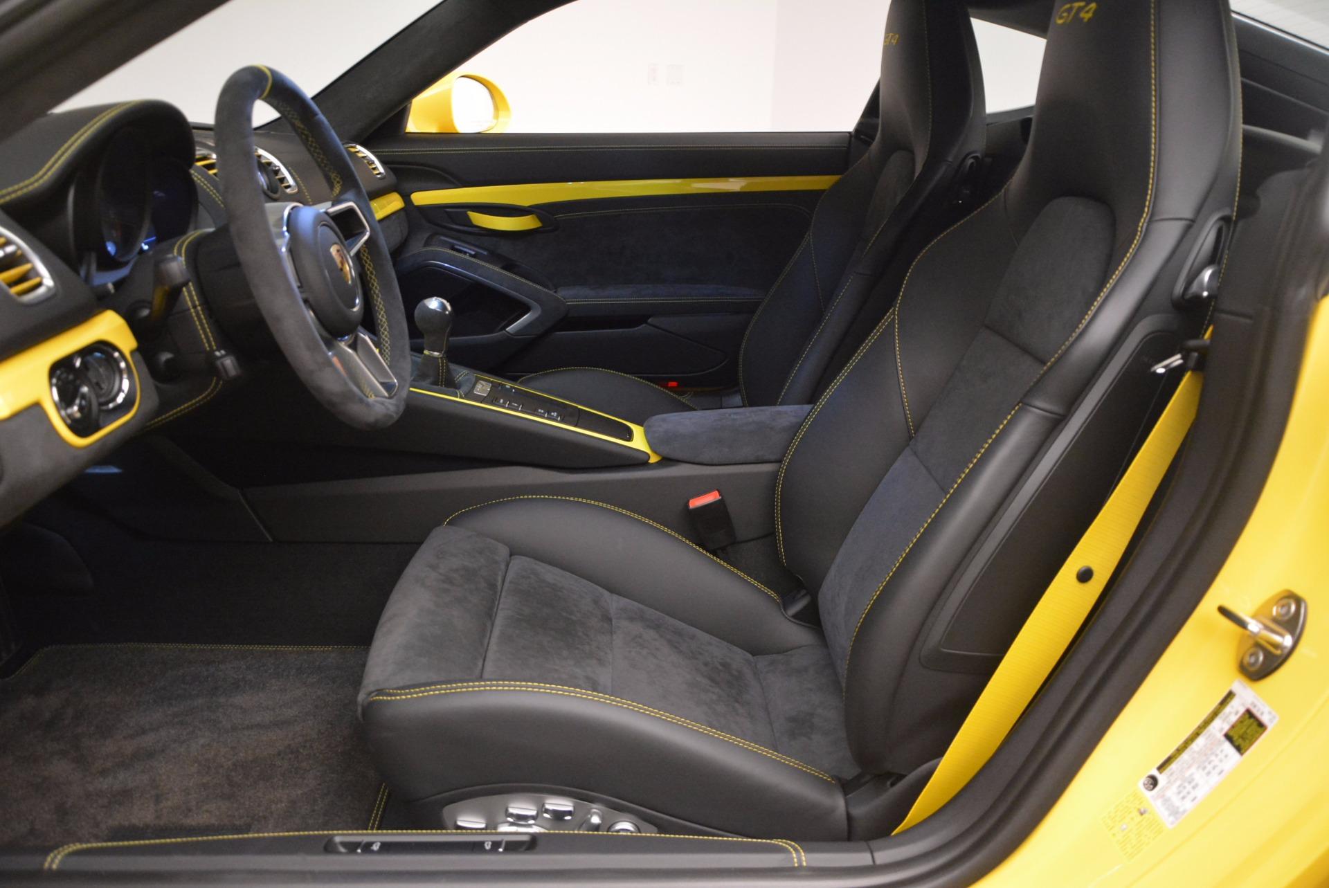 Used 2016 Porsche Cayman GT4 For Sale In Westport, CT 1401_p14