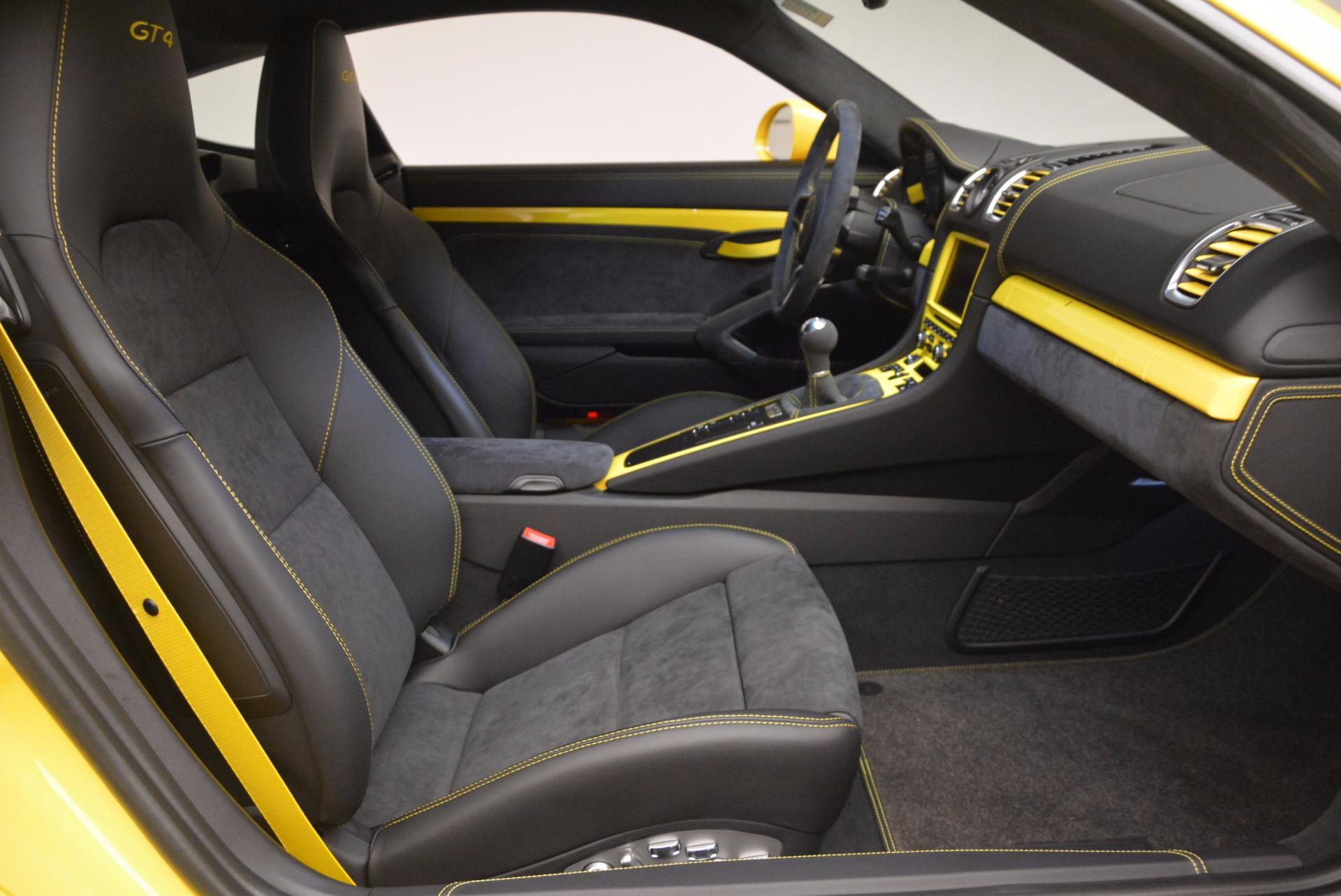 Used 2016 Porsche Cayman GT4 For Sale In Westport, CT 1401_p18