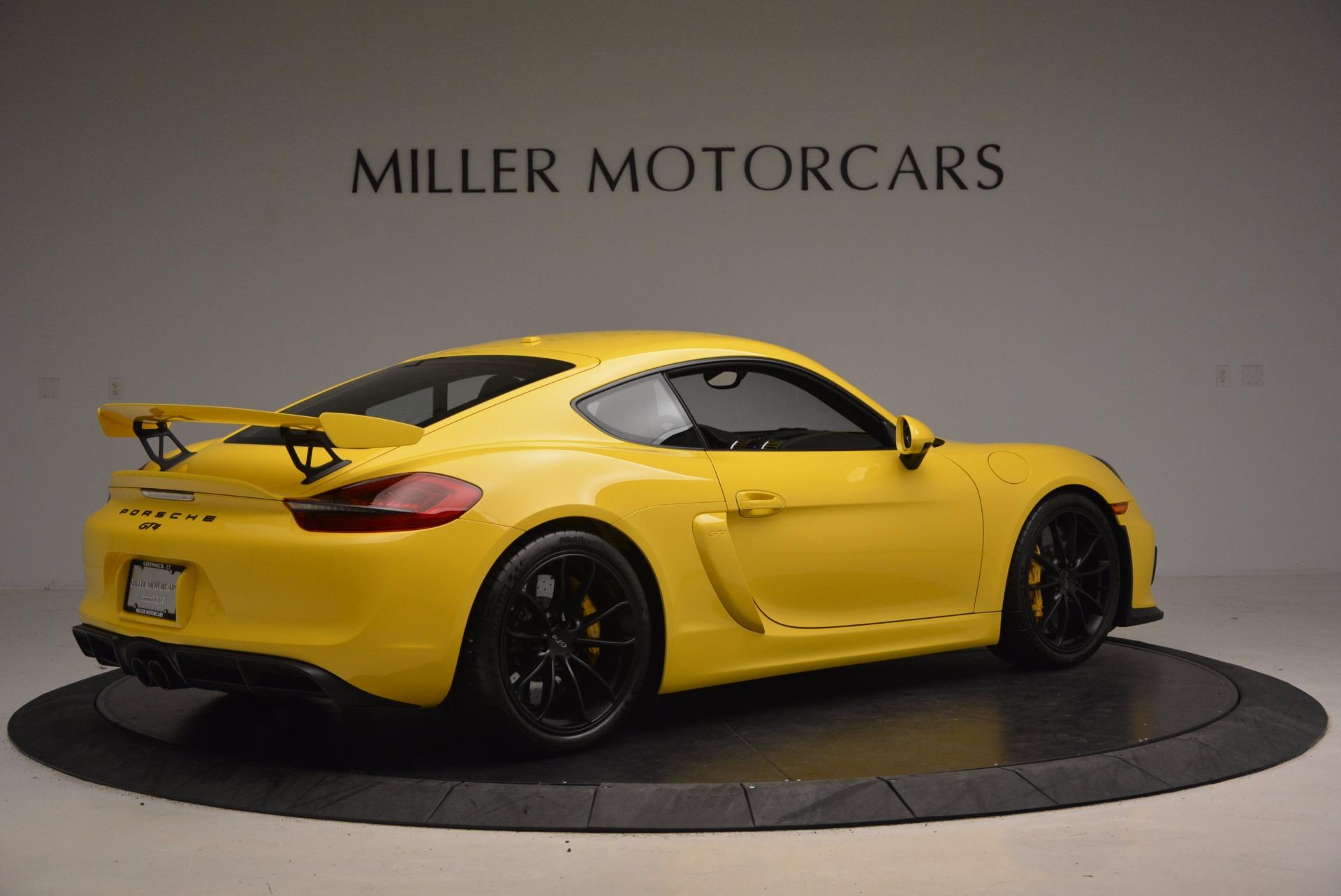 Used 2016 Porsche Cayman GT4 For Sale In Westport, CT 1401_p8
