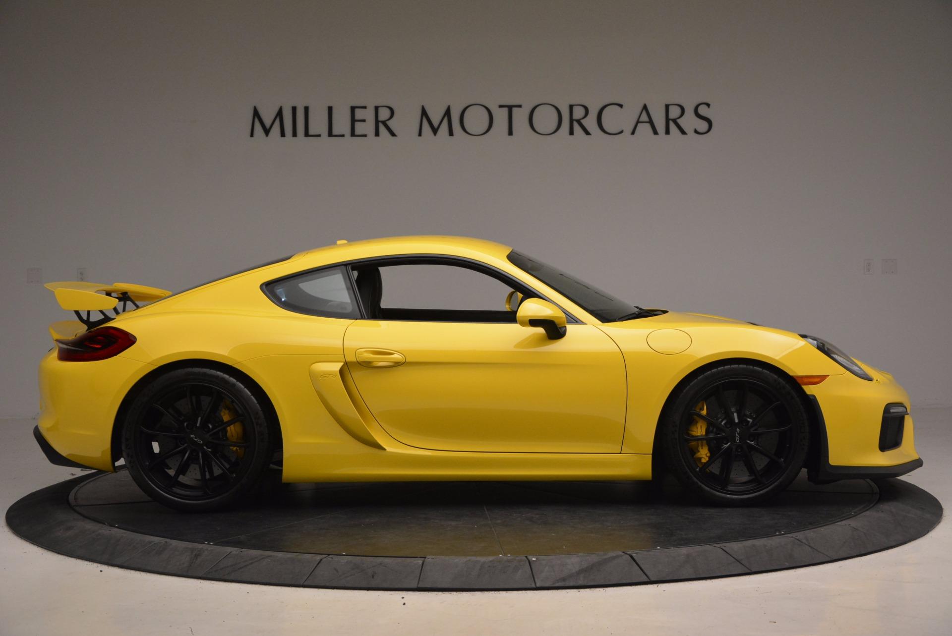 Used 2016 Porsche Cayman GT4 For Sale In Westport, CT 1401_p9