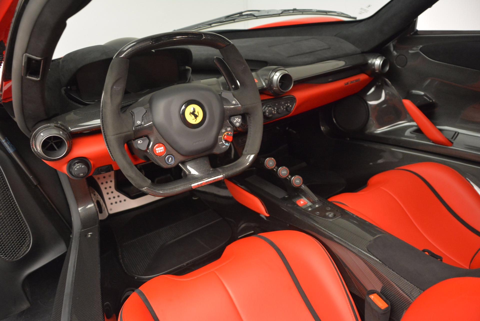 Used 2015 Ferrari LaFerrari  For Sale In Westport, CT 1402_p13