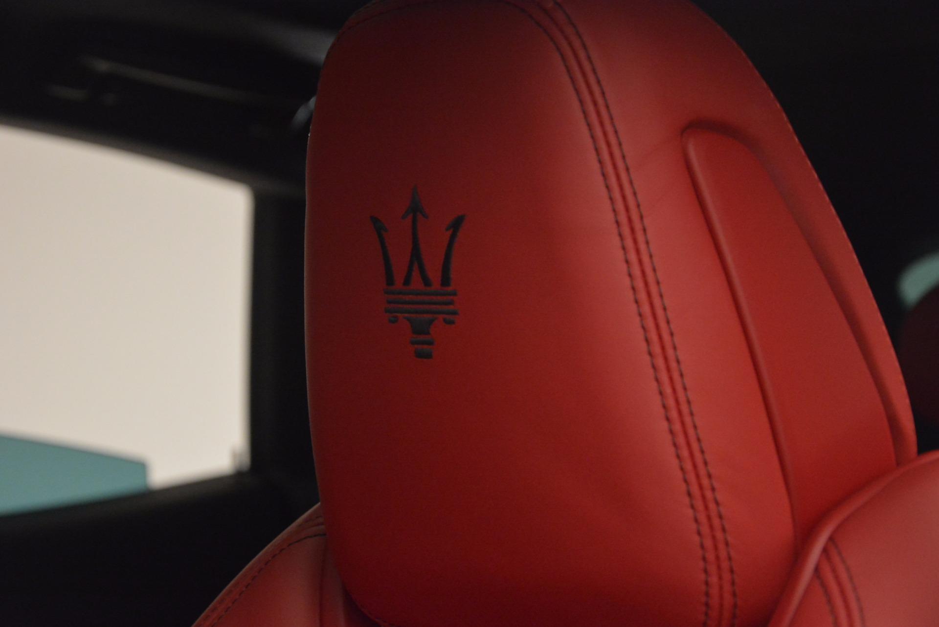 New 2017 Maserati Levante  For Sale In Westport, CT 1404_p18