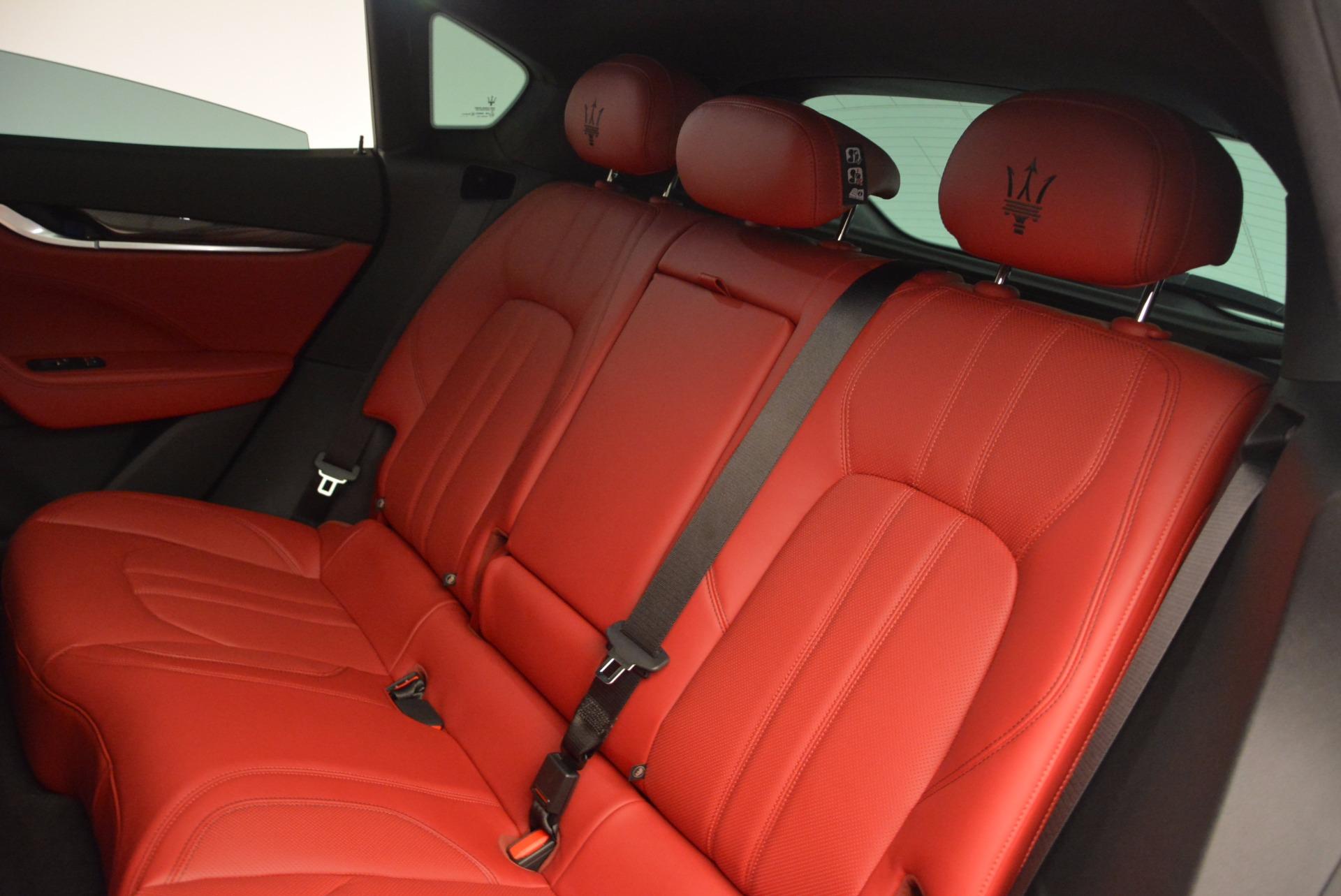 New 2017 Maserati Levante  For Sale In Westport, CT 1404_p22
