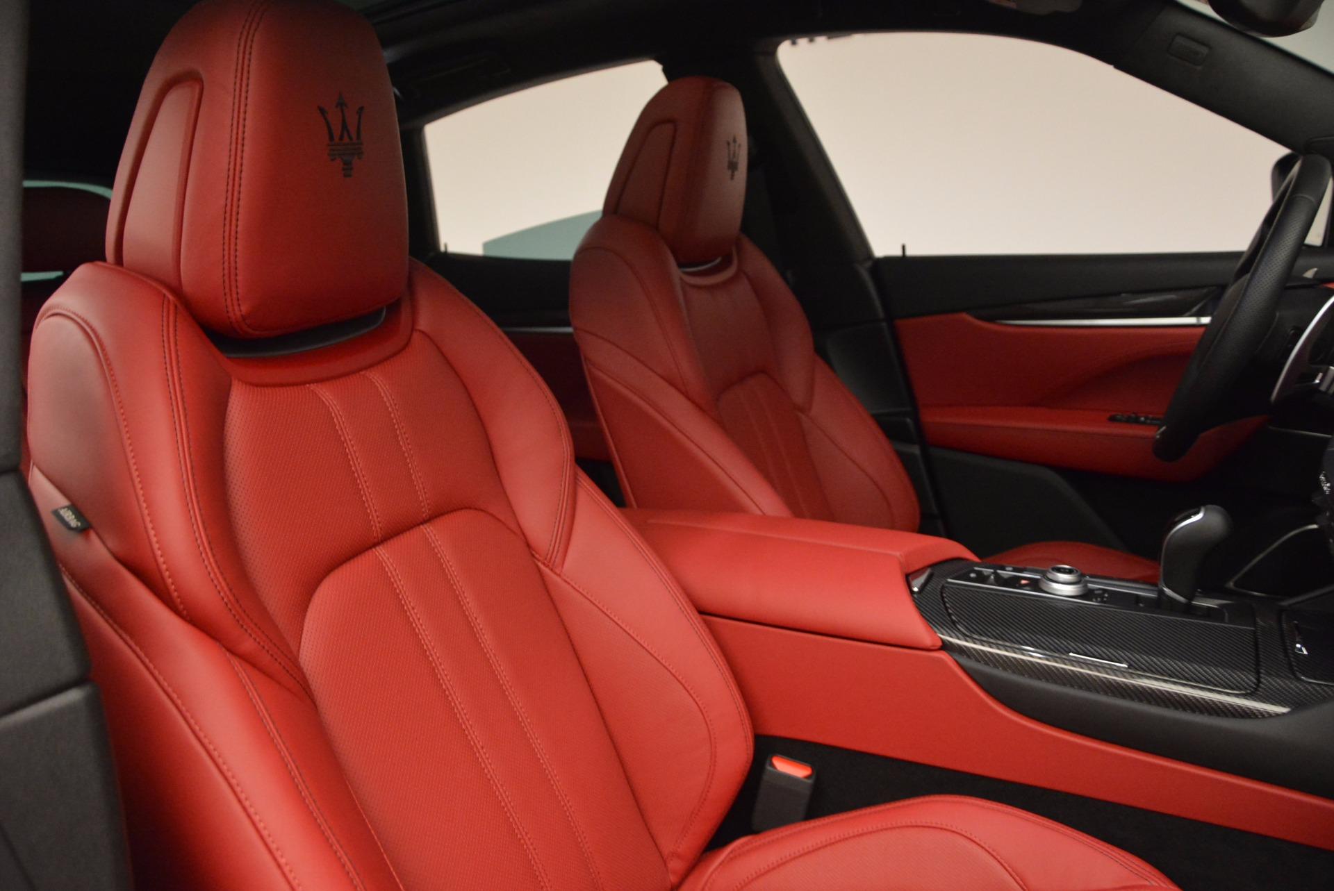 New 2017 Maserati Levante  For Sale In Westport, CT 1404_p25