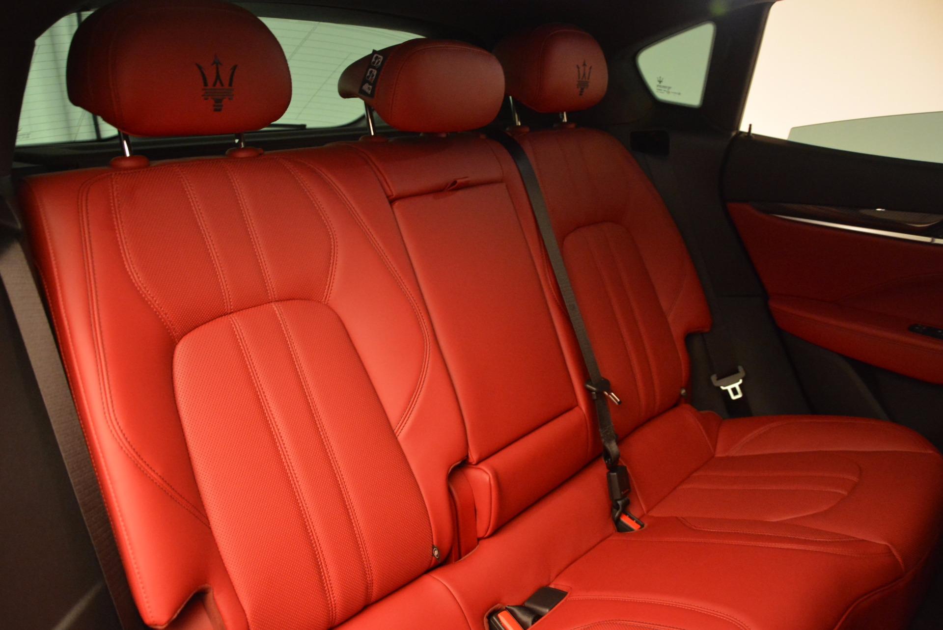 New 2017 Maserati Levante  For Sale In Westport, CT 1404_p28