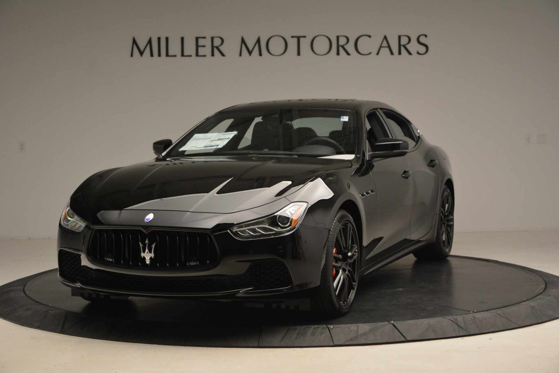 New 2017 Maserati Ghibli Nerissimo Edition S Q4 For Sale In Westport, CT 1405_main
