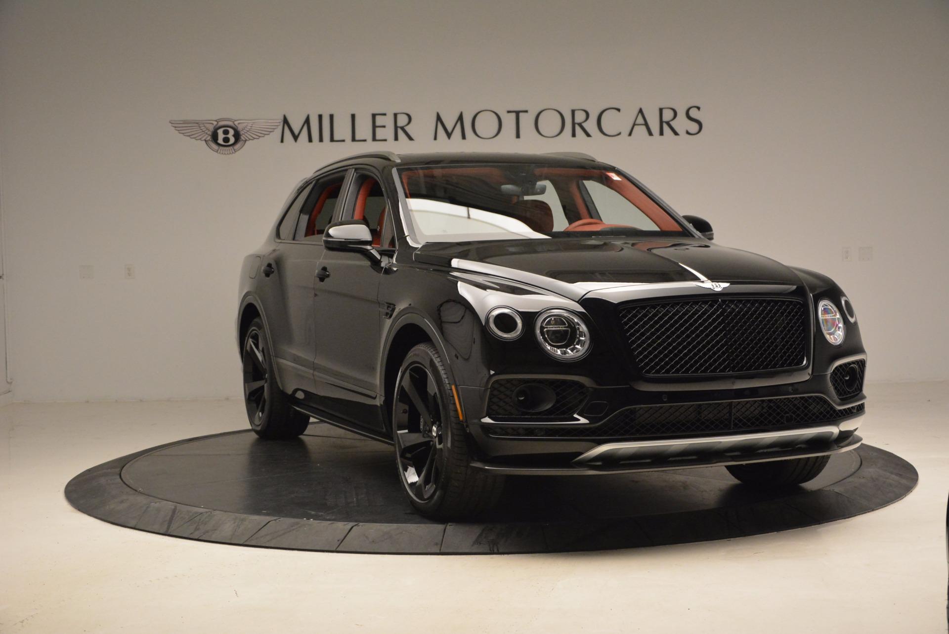 New 2018 Bentley Bentayga Black Edition For Sale In Westport, CT 1418_p12