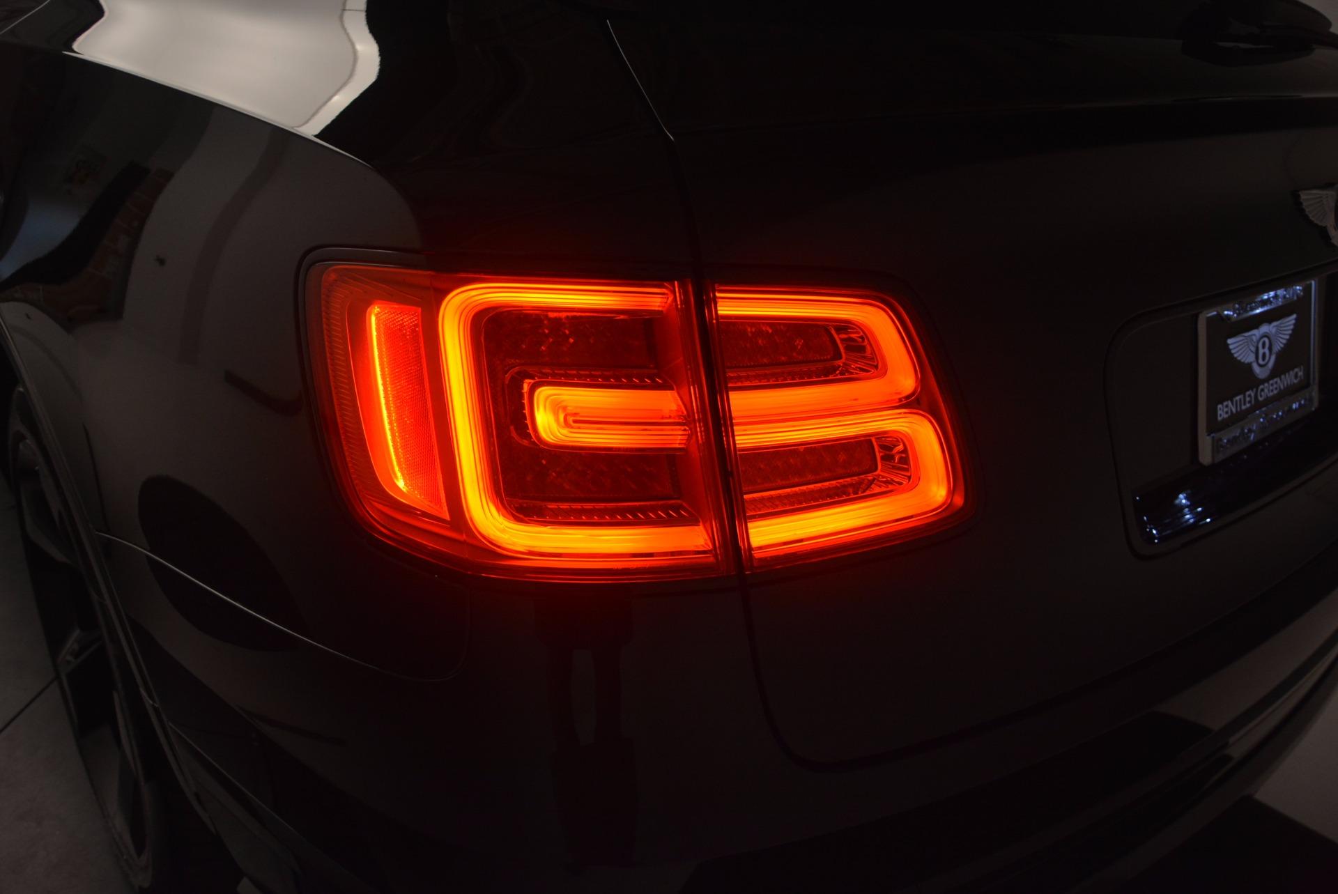 New 2018 Bentley Bentayga Black Edition For Sale In Westport, CT 1418_p18