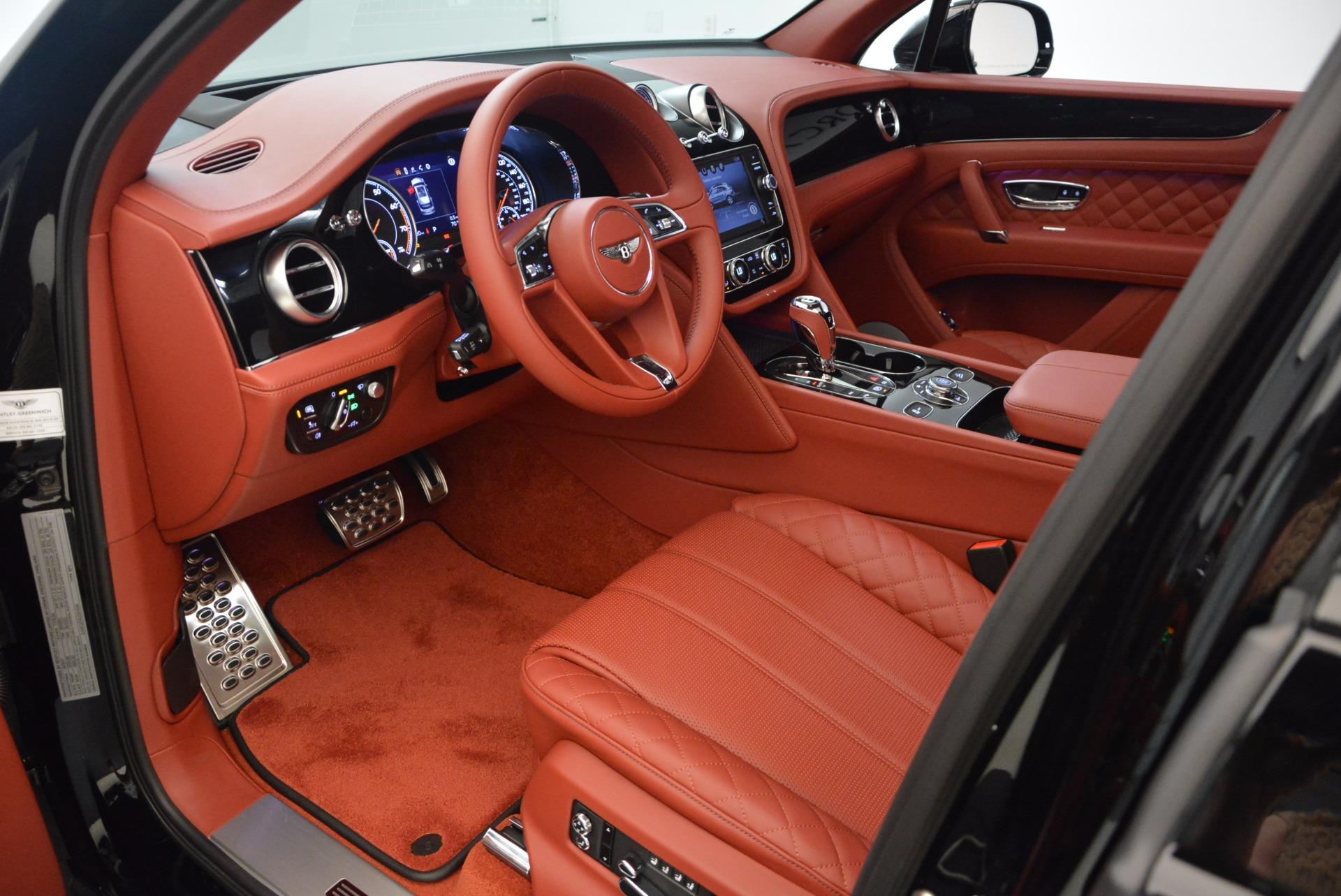 New 2018 Bentley Bentayga Black Edition For Sale In Westport, CT 1418_p28