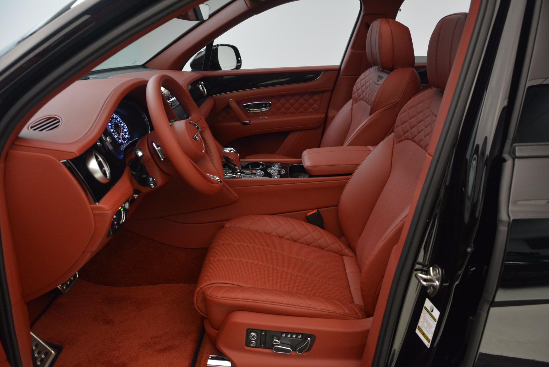 New 2018 Bentley Bentayga Black Edition For Sale In Westport, CT 1418_p29