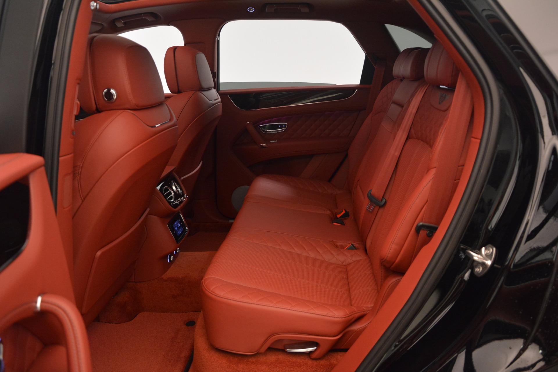 New 2018 Bentley Bentayga Black Edition For Sale In Westport, CT 1418_p44