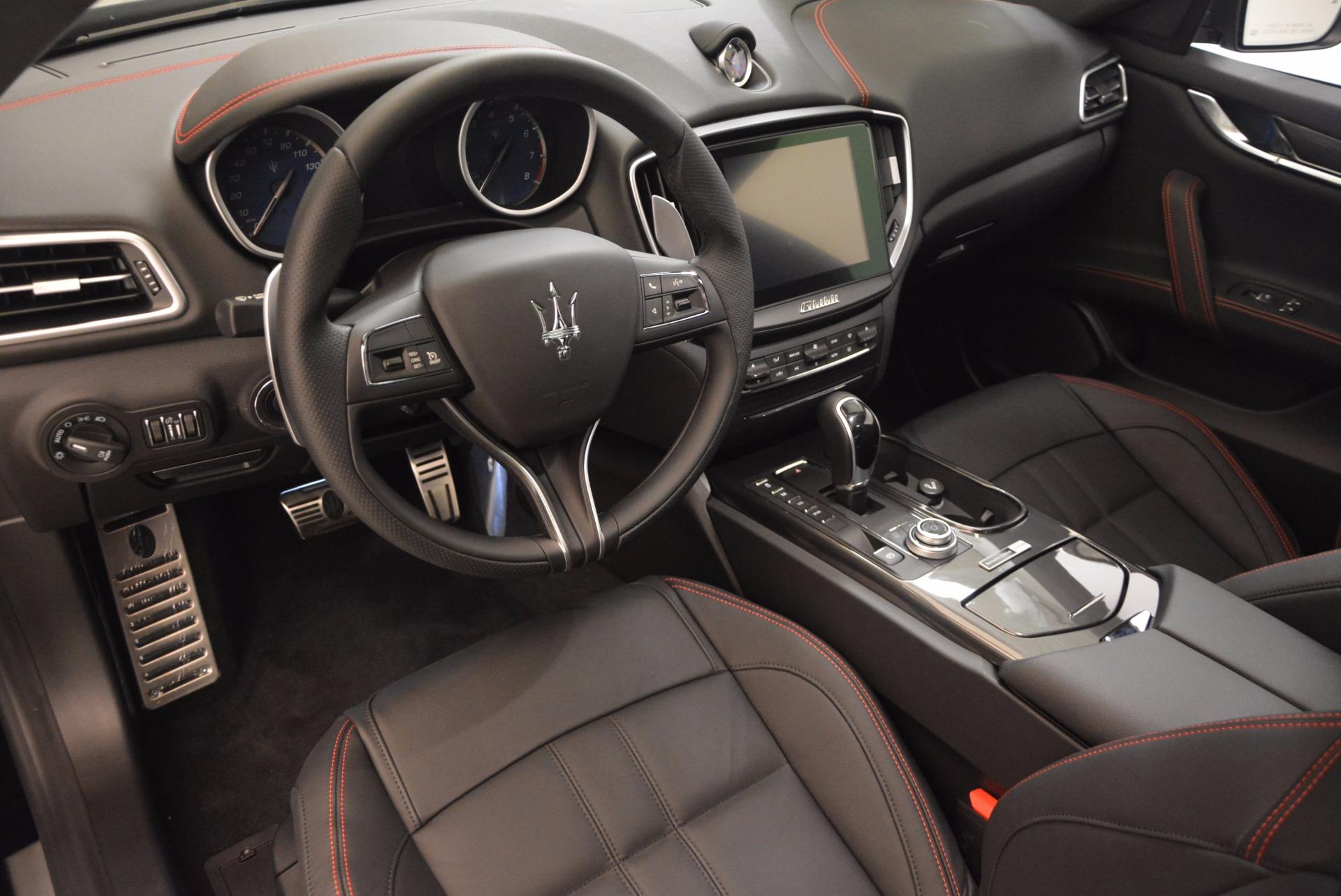 New 2017 Maserati Ghibli Nerissimo Edition S Q4 For Sale In Westport, CT 1419_p13
