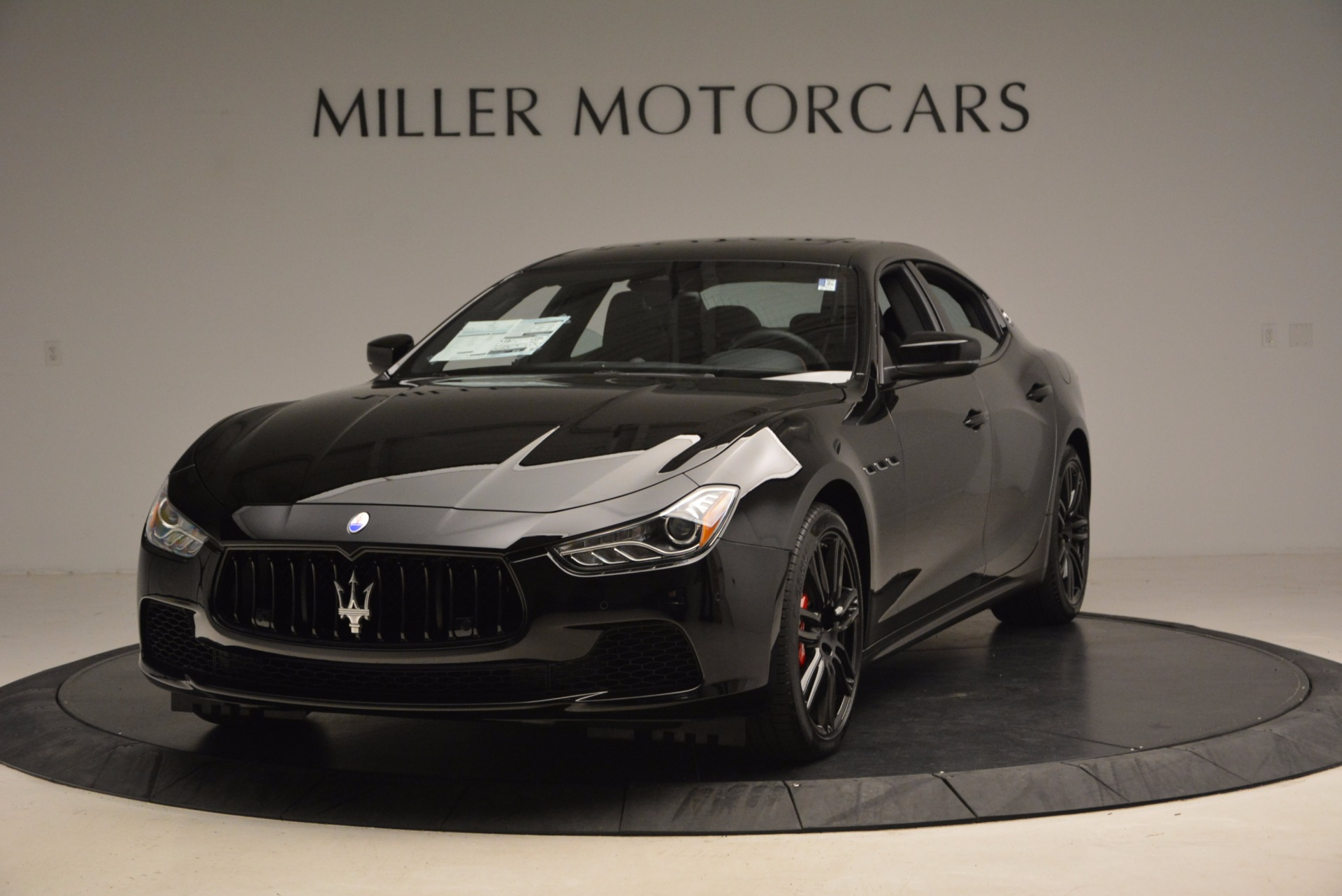 New 2017 Maserati Ghibli Nerissimo Edition S Q4 For Sale In Westport, CT