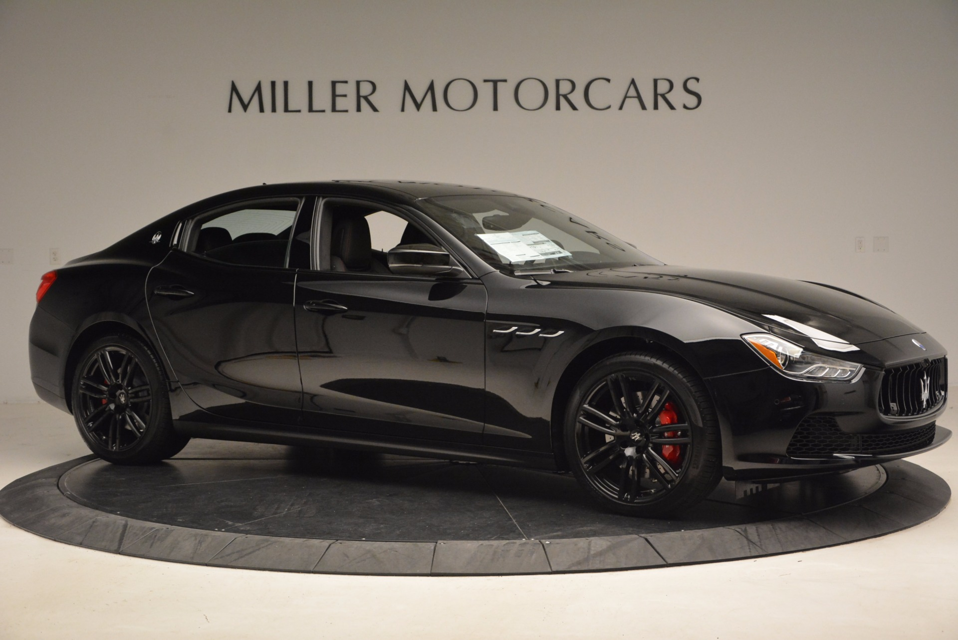 New 2017 Maserati Ghibli Nerissimo Edition S Q4 For Sale In Westport, CT 1420_p10