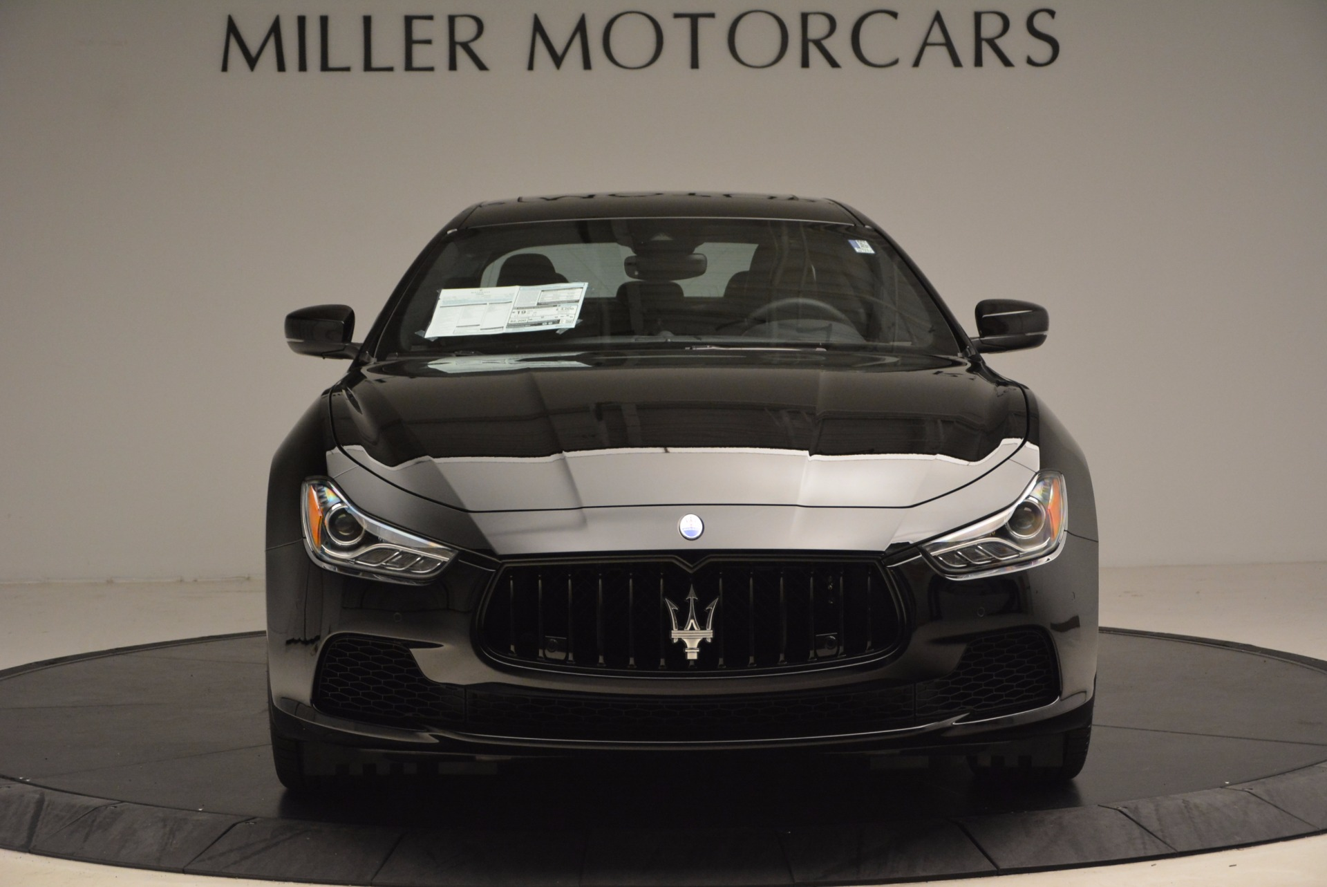 New 2017 Maserati Ghibli Nerissimo Edition S Q4 For Sale In Westport, CT 1420_p12