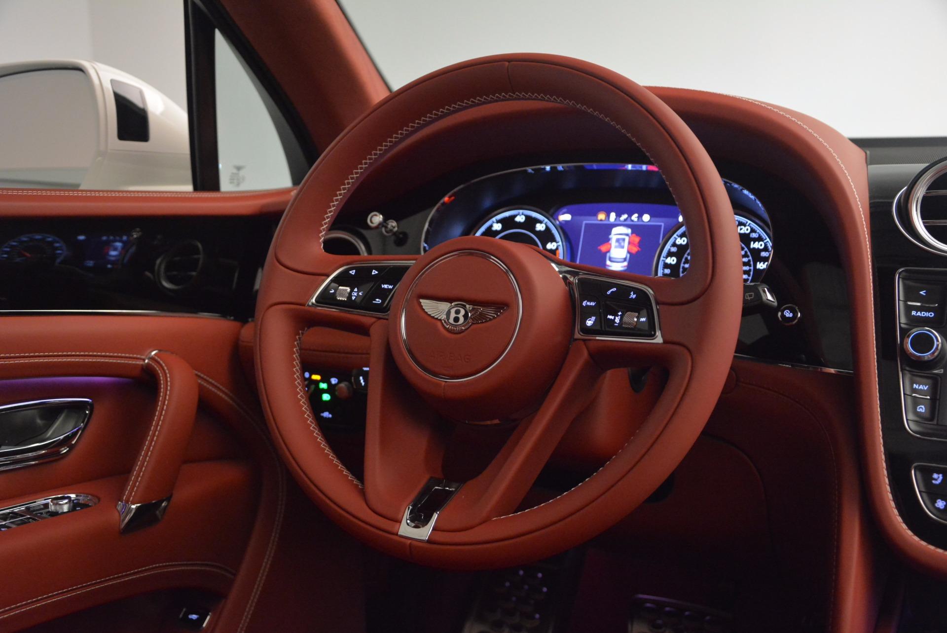 New 2018 Bentley Bentayga Onyx For Sale In Westport, CT 1425_p54