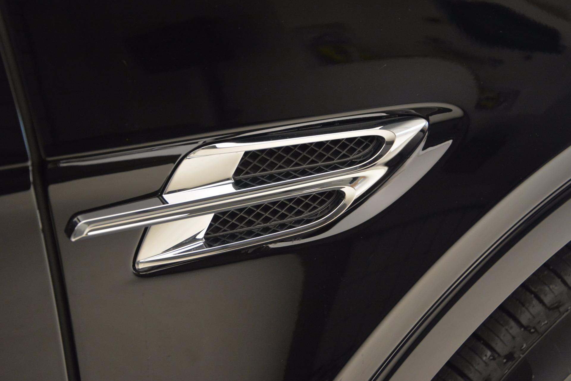 New 2018 Bentley Bentayga Onyx For Sale In Westport, CT 1428_p20
