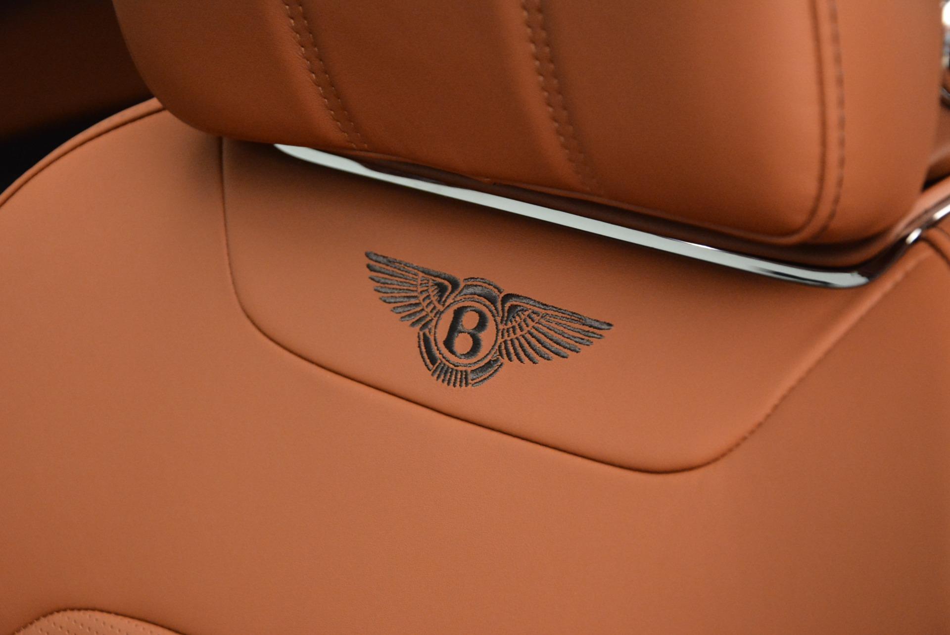 New 2018 Bentley Bentayga Onyx For Sale In Westport, CT 1428_p26