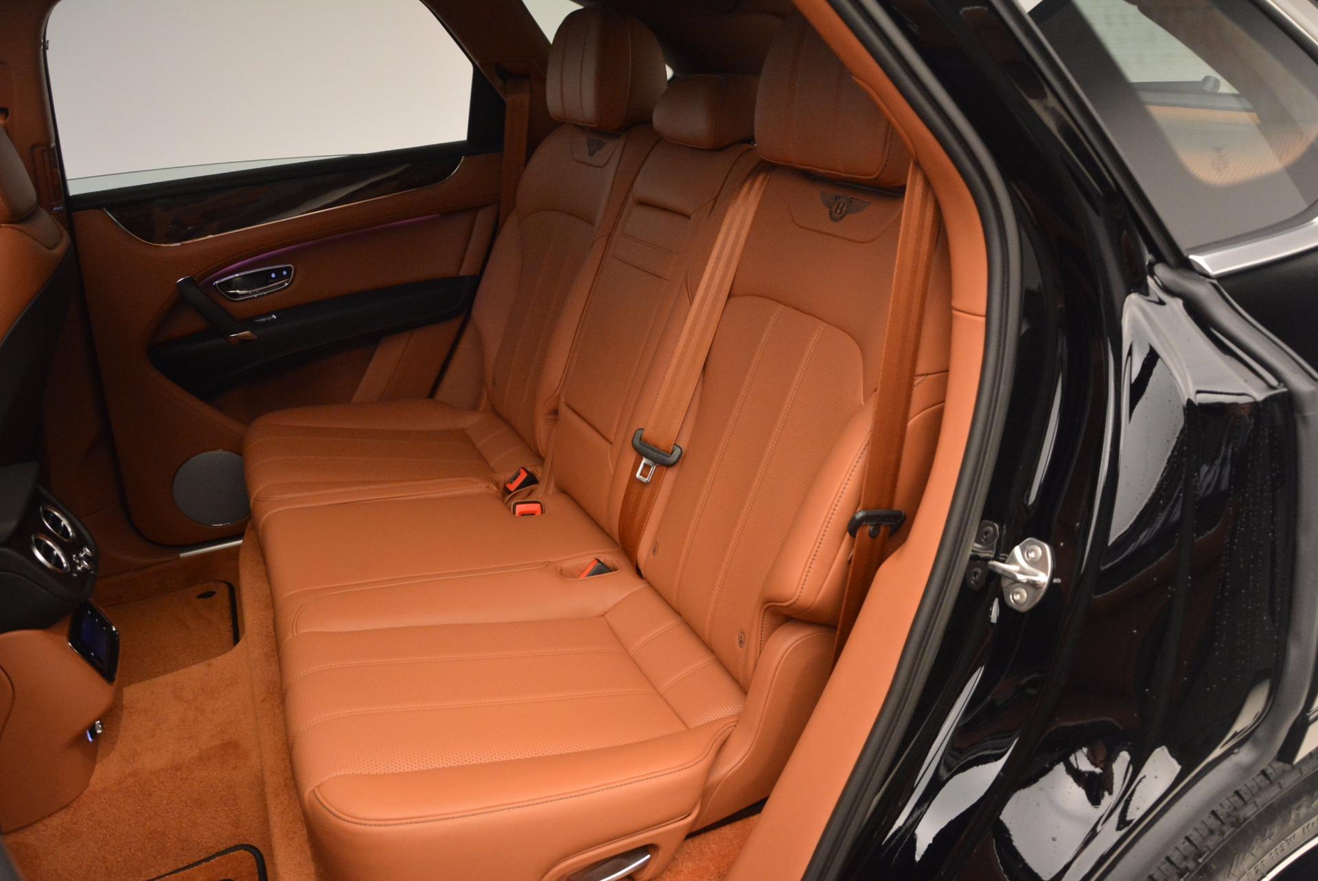 New 2018 Bentley Bentayga Onyx For Sale In Westport, CT 1428_p29