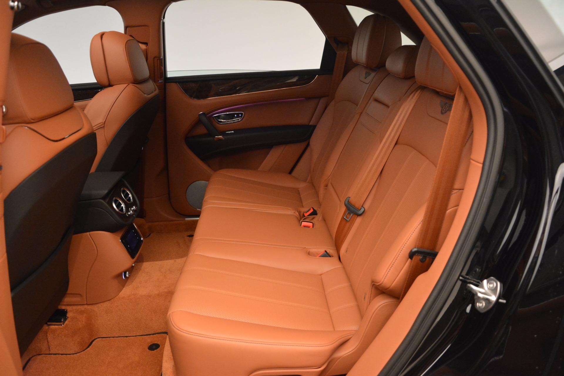 New 2018 Bentley Bentayga Onyx For Sale In Westport, CT 1428_p30