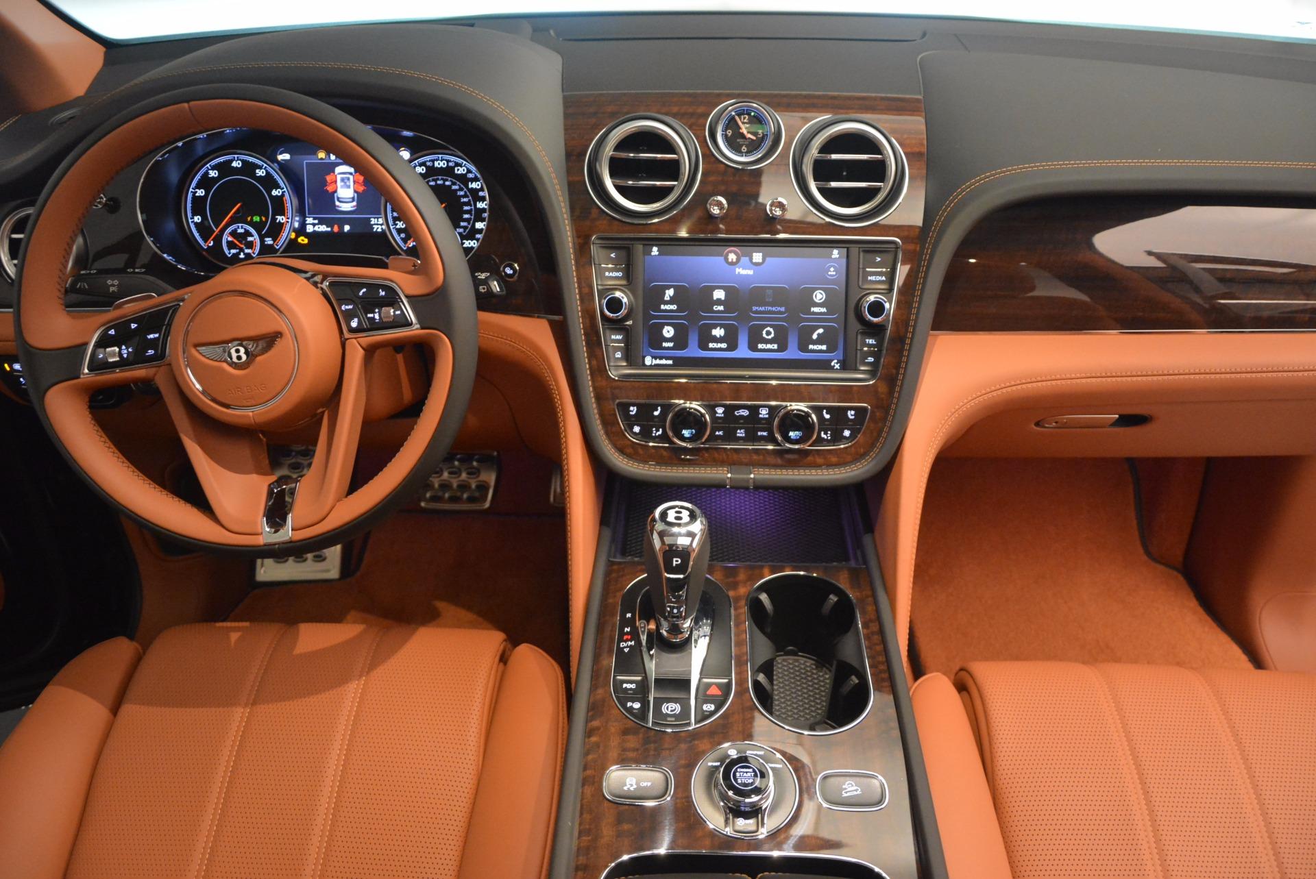 New 2018 Bentley Bentayga Onyx For Sale In Westport, CT 1428_p45