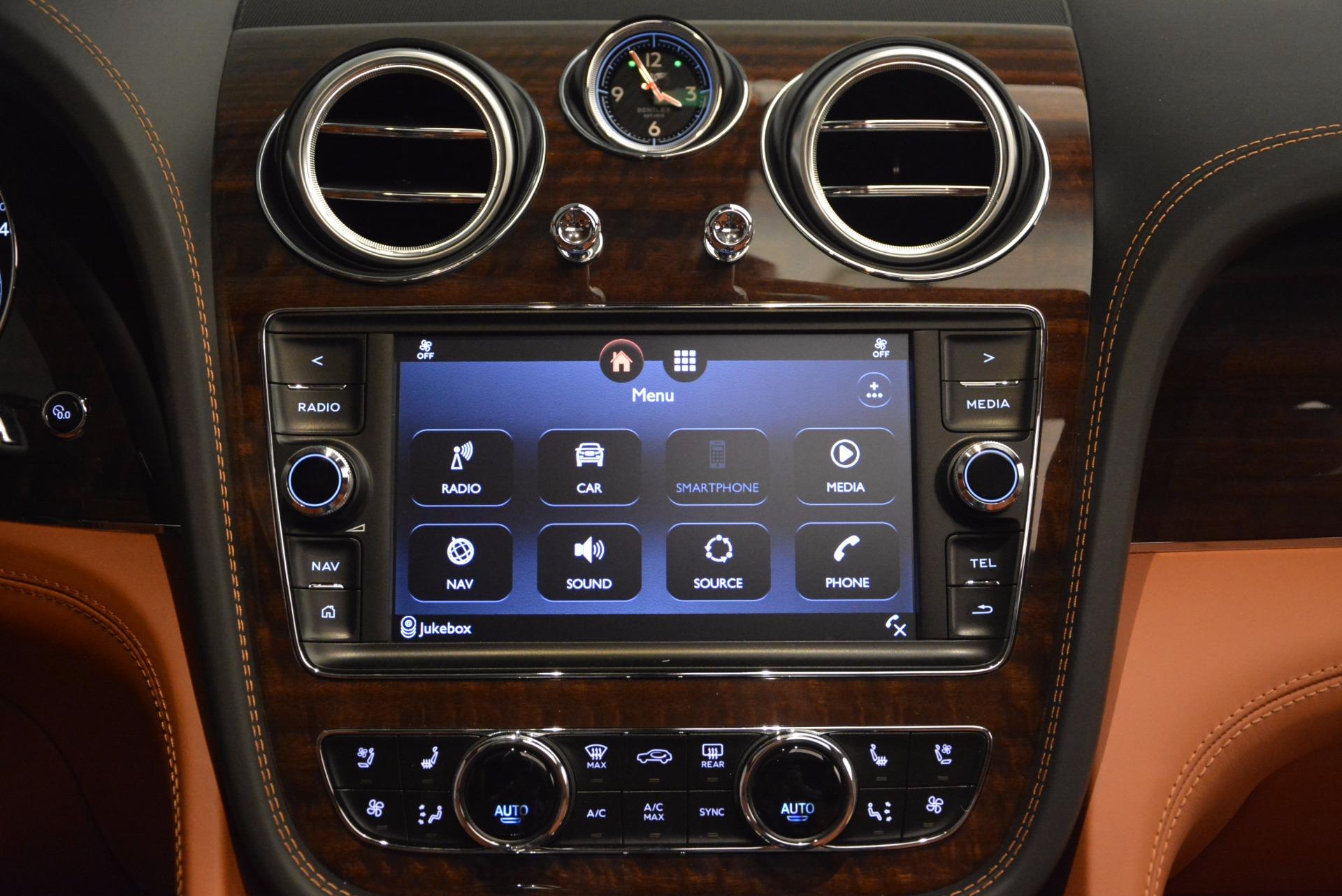 New 2018 Bentley Bentayga Onyx For Sale In Westport, CT 1428_p47
