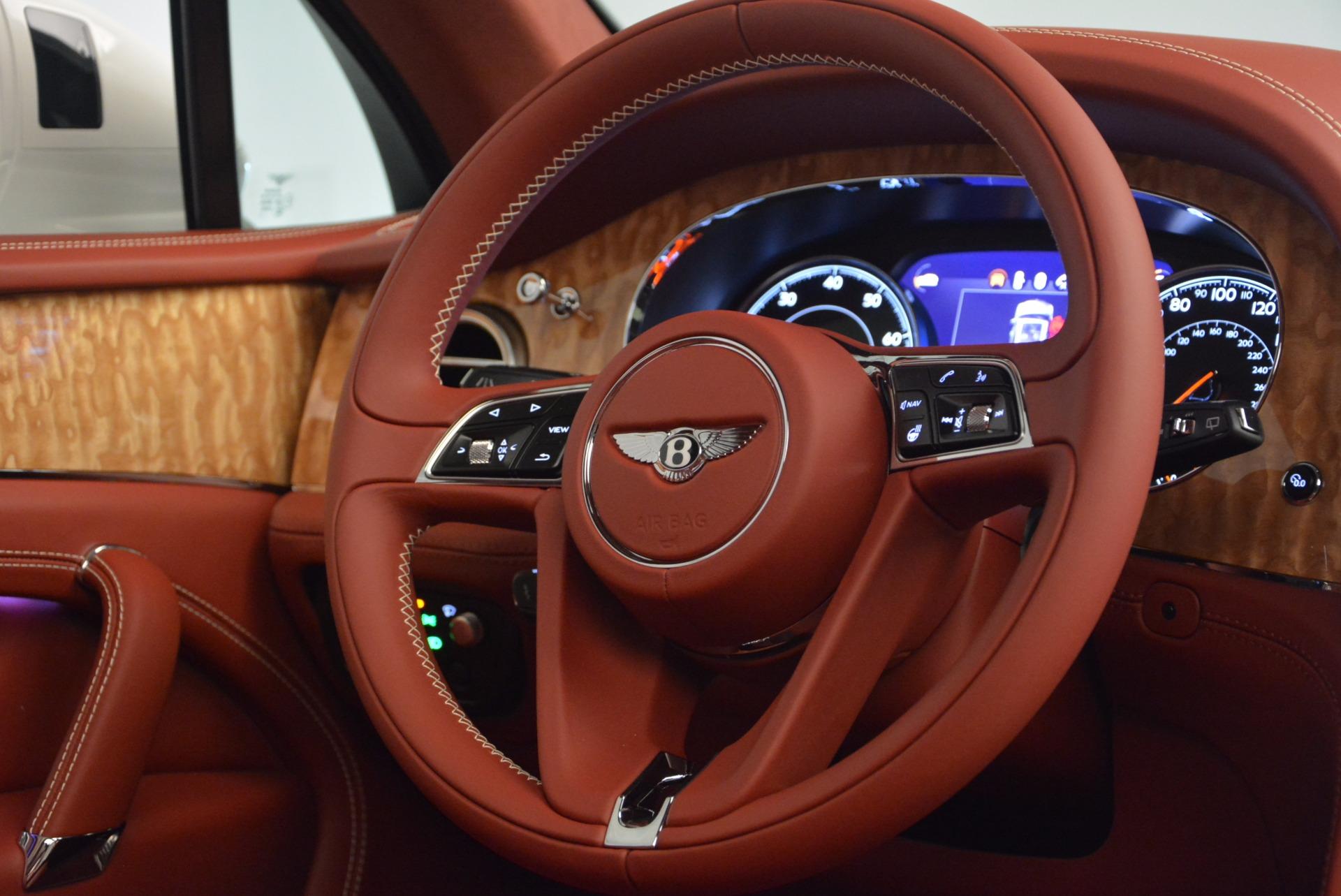 New 2018 Bentley Bentayga Onyx Edition For Sale In Westport, CT 1429_p45