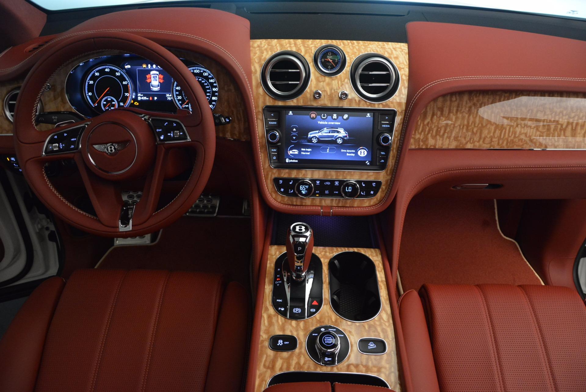 New 2018 Bentley Bentayga Onyx Edition For Sale In Westport, CT 1429_p46