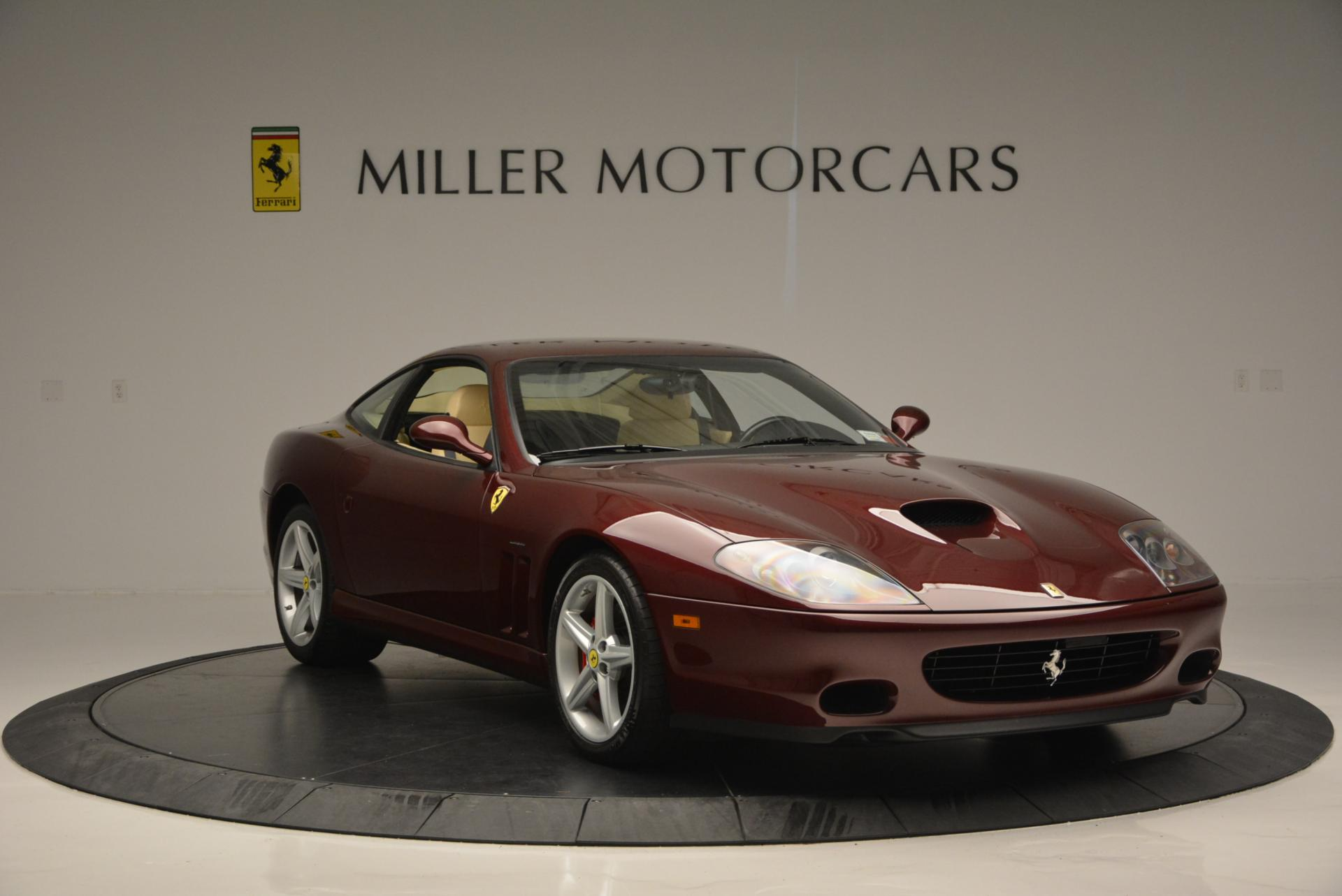 Used 2003 Ferrari 575M Maranello 6-Speed Manual For Sale In Westport, CT 143_p11