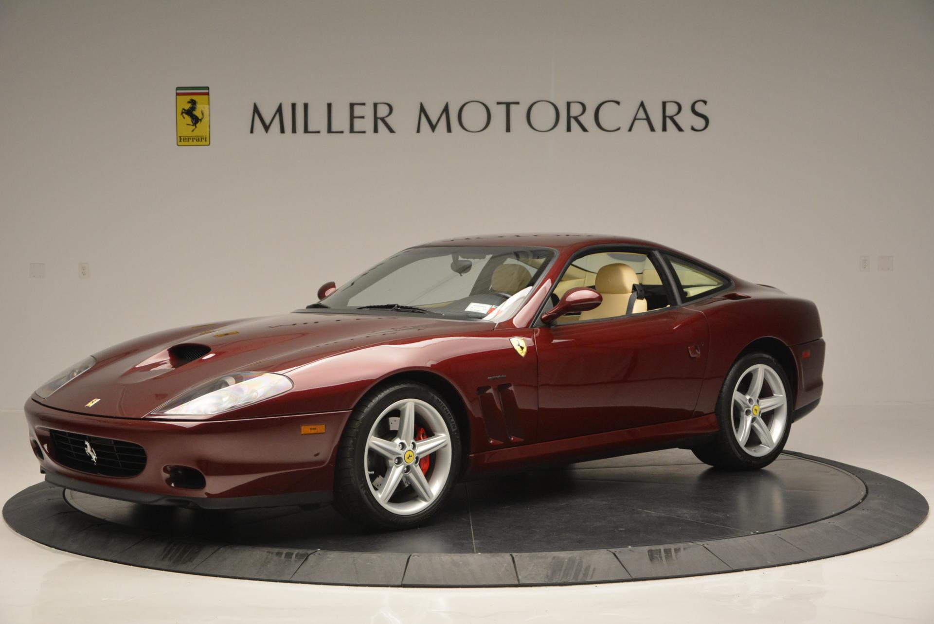 Used 2003 Ferrari 575M Maranello 6-Speed Manual For Sale In Westport, CT 143_p2