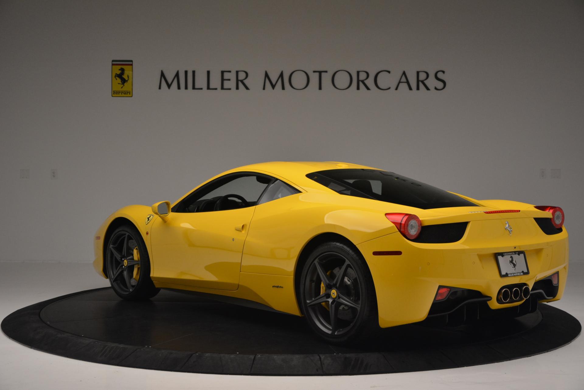 Used 2011 Ferrari 458 Italia  For Sale In Westport, CT 144_p5