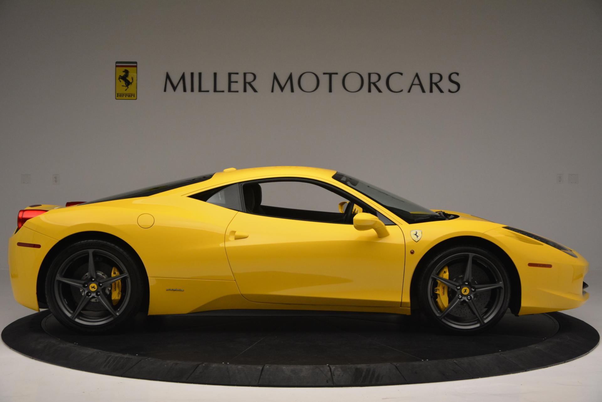Used 2011 Ferrari 458 Italia  For Sale In Westport, CT 144_p9