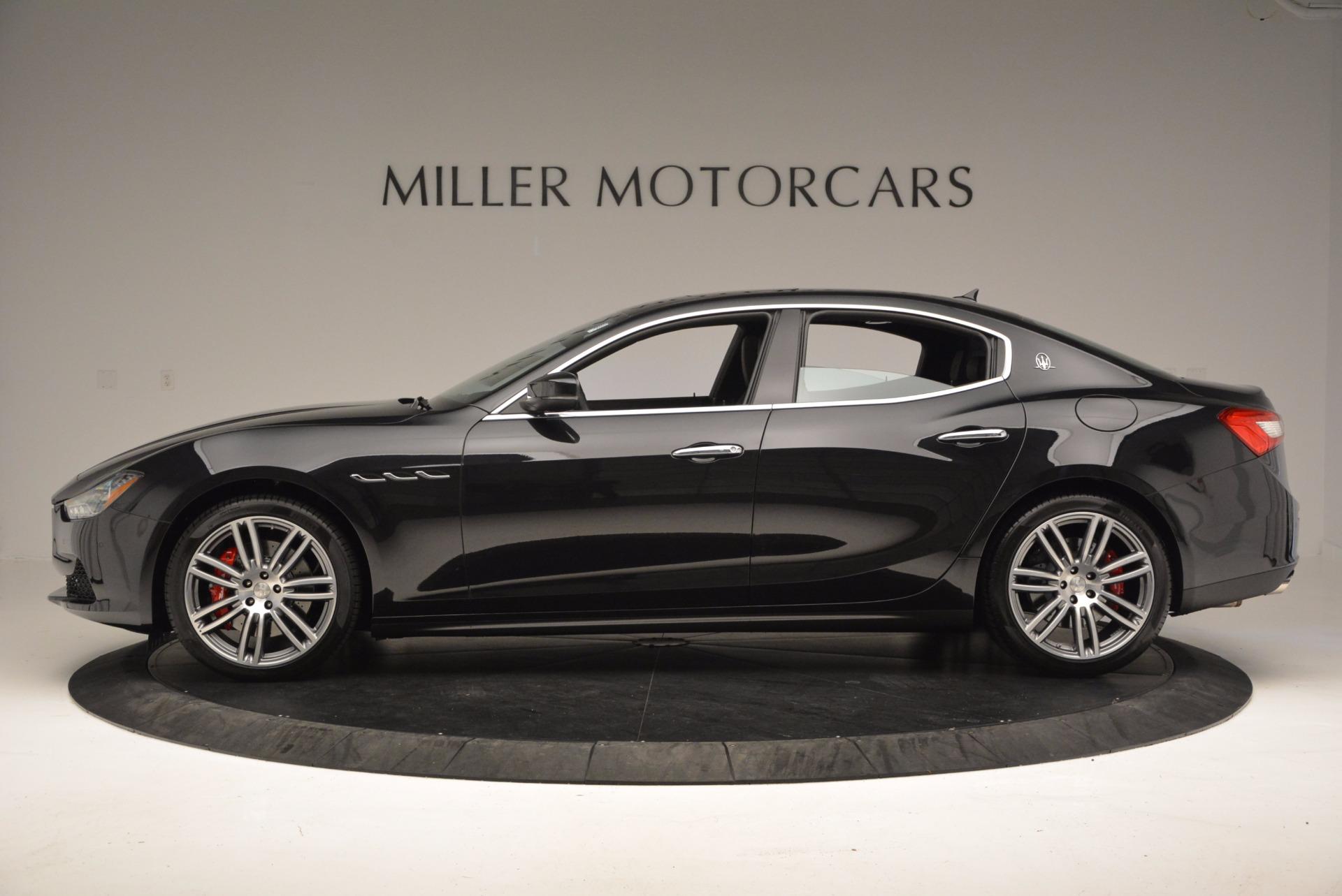 New 2017 Maserati Ghibli SQ4 For Sale In Westport, CT 1443_p3