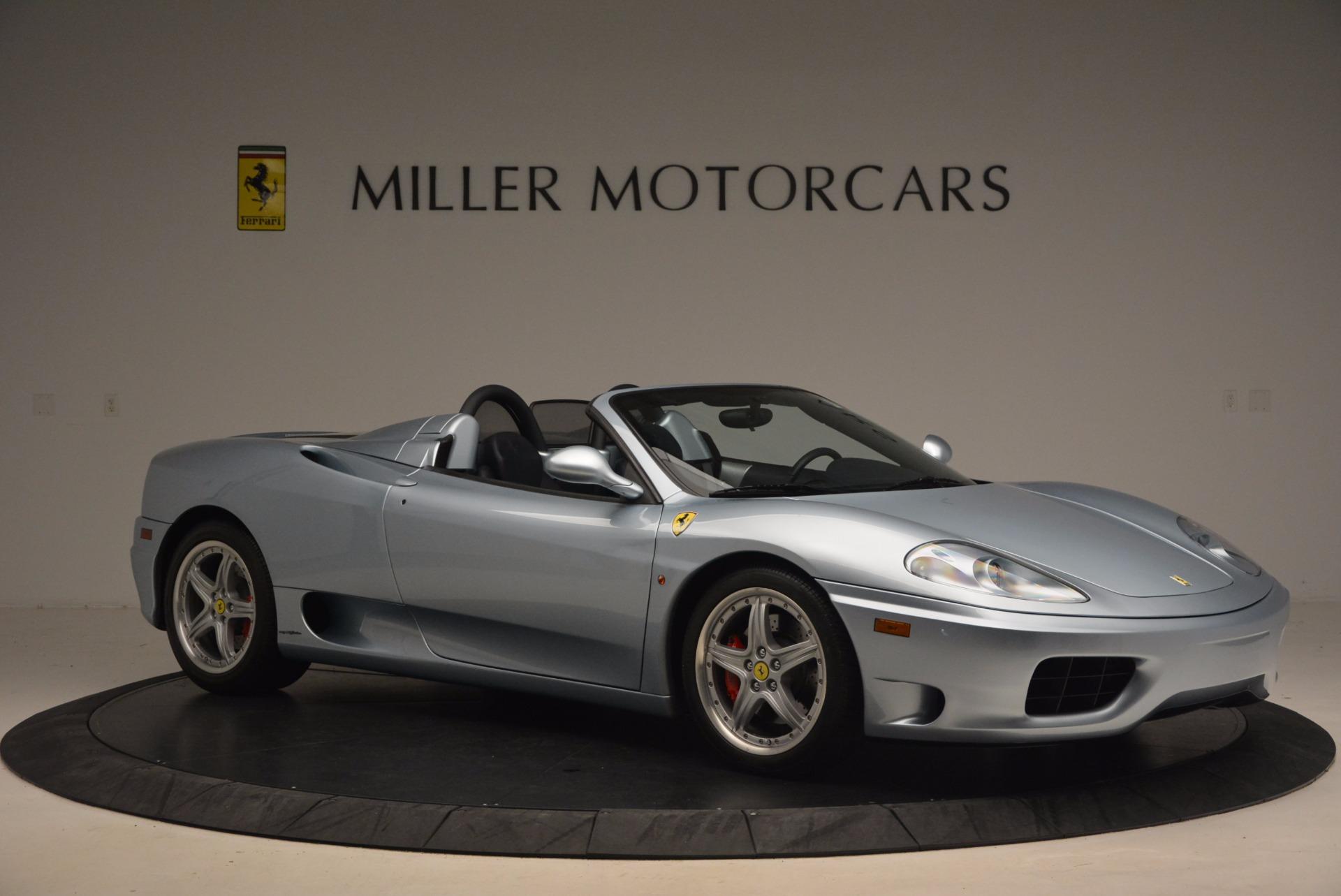 Used 2003 Ferrari 360 Spider 6-Speed Manual For Sale In Westport, CT 1445_p10