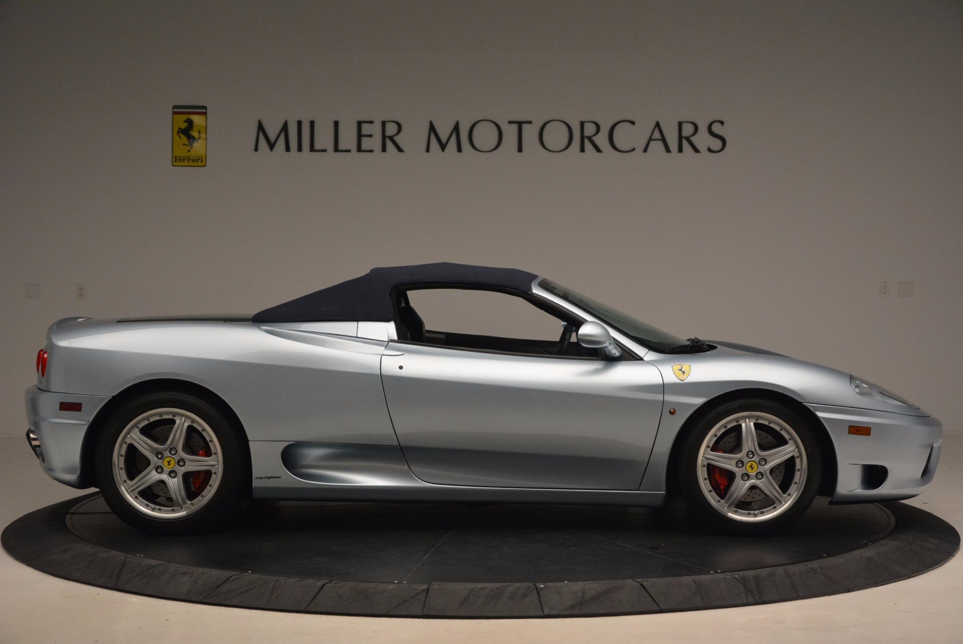 Used 2003 Ferrari 360 Spider 6-Speed Manual For Sale In Westport, CT 1445_p21
