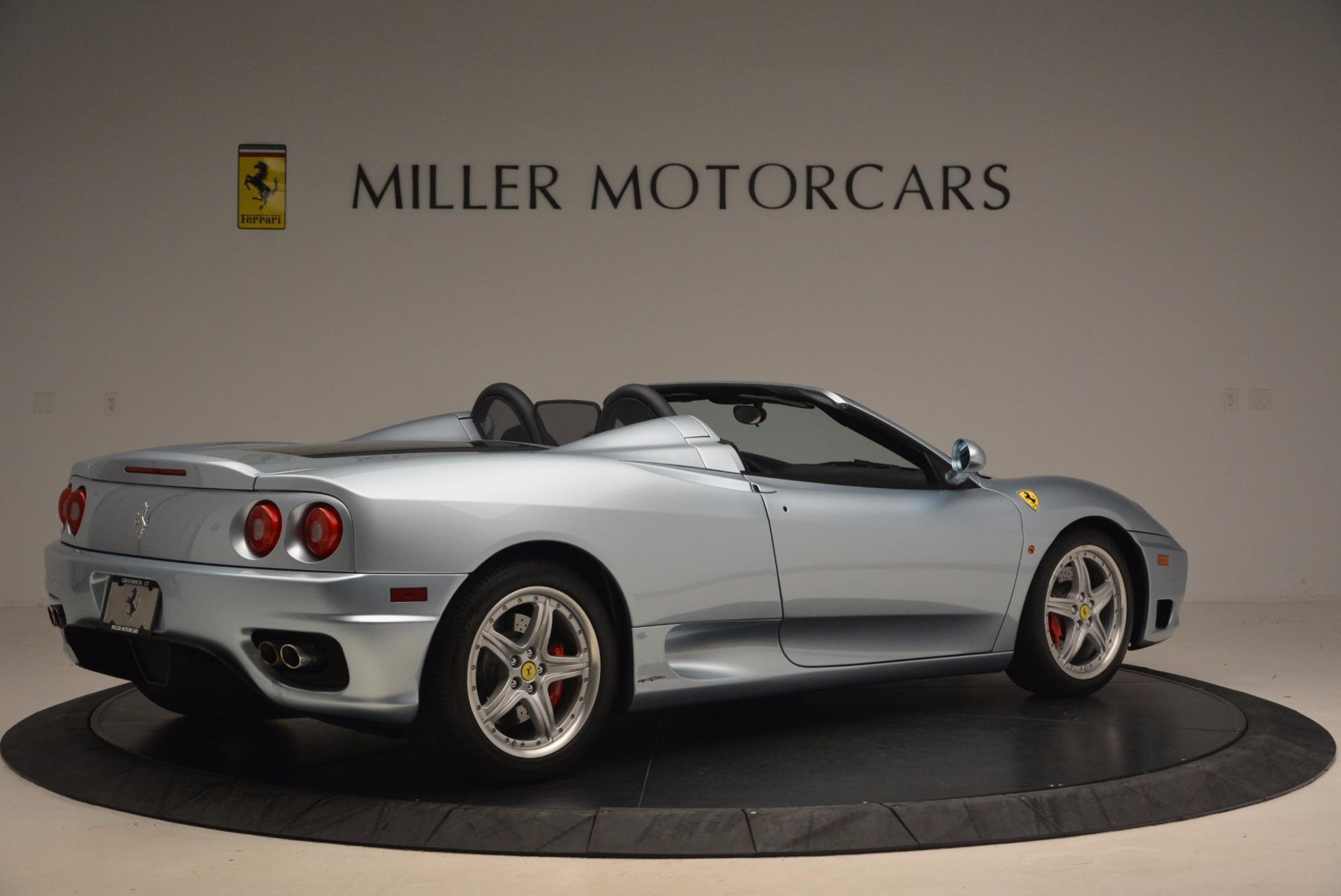 Used 2003 Ferrari 360 Spider 6-Speed Manual For Sale In Westport, CT 1445_p8