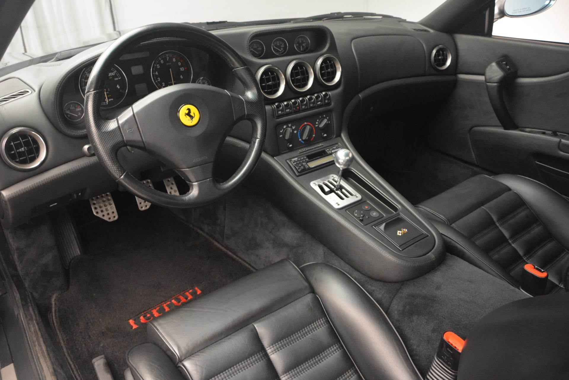 Used 1997 Ferrari 550 Maranello  For Sale In Westport, CT 147_p13