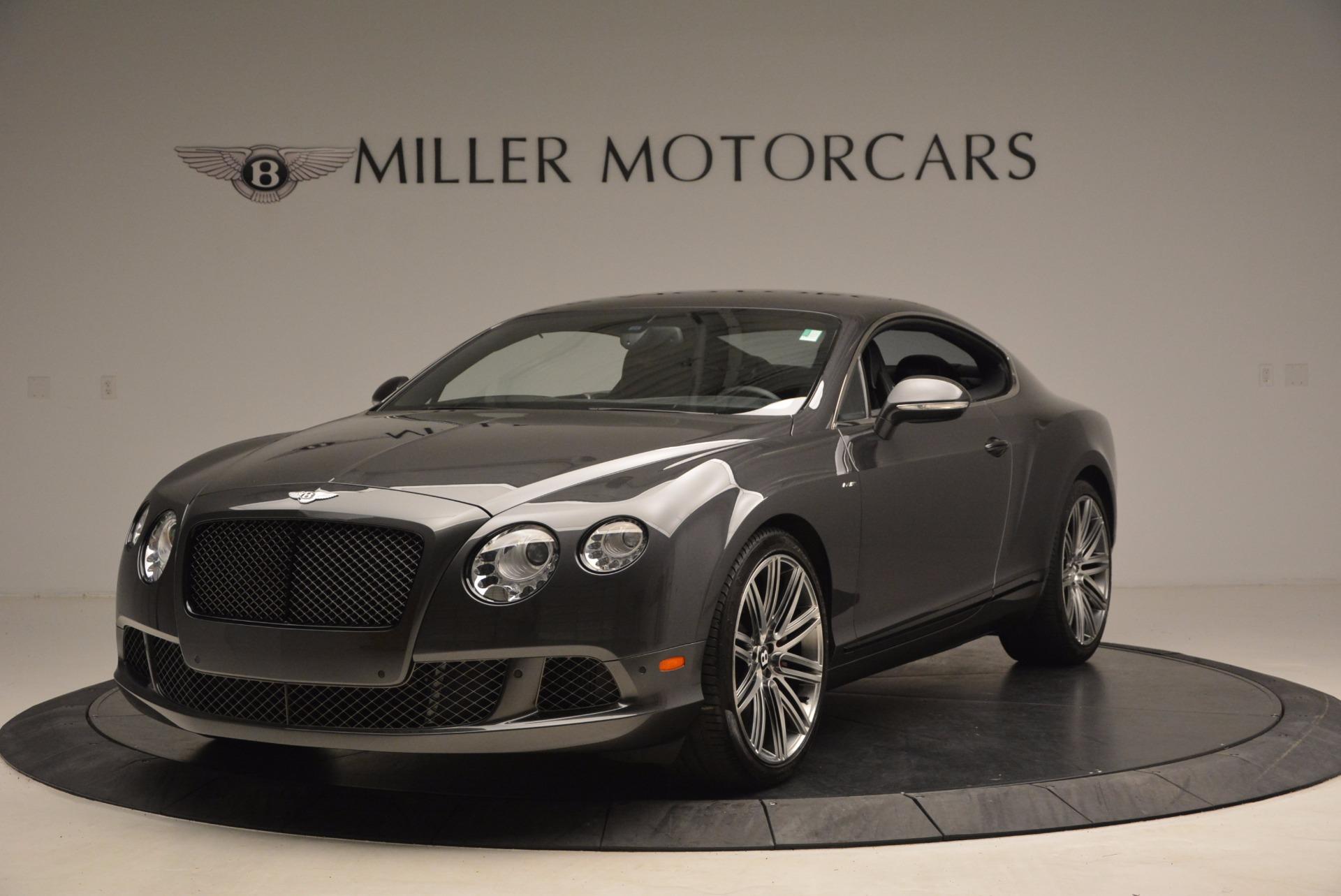 Used 2014 Bentley Continental GT Speed For Sale In Westport, CT 1473_main
